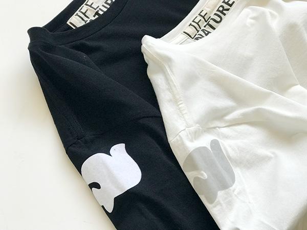フリーシティー フロッキープリントTシャツ.jpg