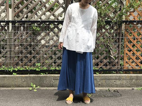 BLUE BLUE JAPAN  リーフサークルシシュウカシュクール.jpg