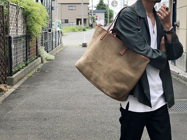 Hender Scheme leather core tote メンズサイズ.jpg