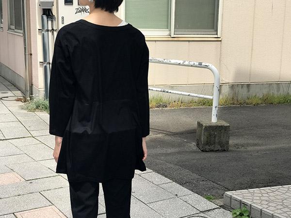 シーム カーディガン ブラック.jpg