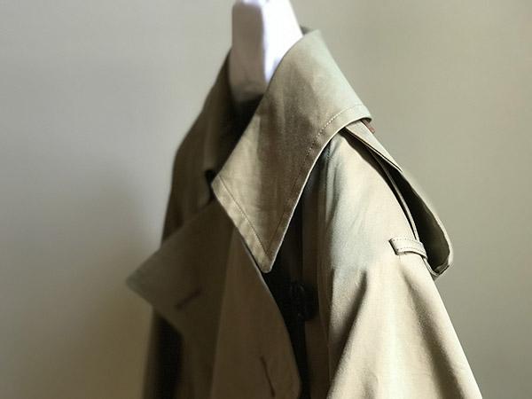 AURALEE FINX CHAMBRAY BIG TRENCH COAT ベージュ.jpg