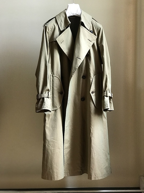 AURALEE FINX CHAMBRAY BIG TRENCH COAT.jpg