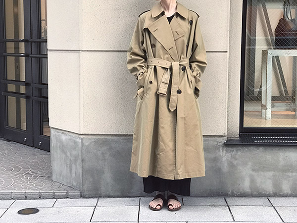 オーラリー FINX CHAMBRAY BIG TRENCH COAT.jpg