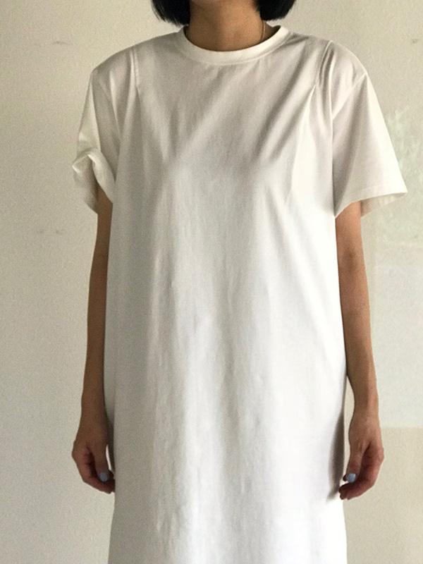 ウェルダー Tシャツワンピ ホワイト.jpg
