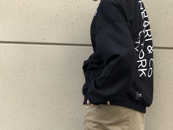 チャリアンドコー 別注スウェット.jpg
