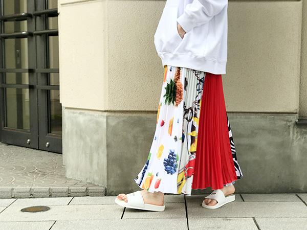 MSGM プリーツスカート 19SS.jpg