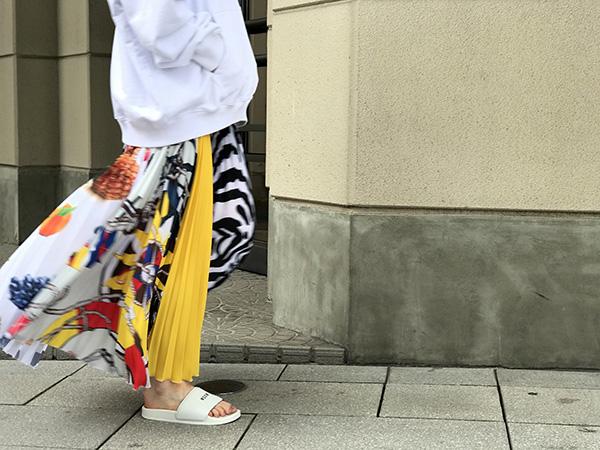 MSGM プリーツスカート.jpg