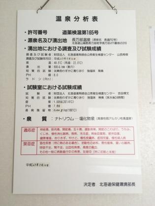 丸金旅館_170722 温泉分析表.JPG