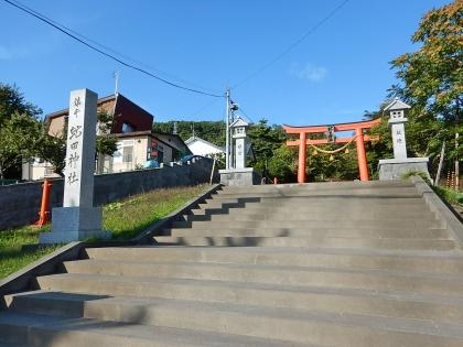 虻田神社_170916 社号標.JPG