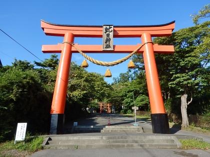 虻田神社_170916 第1鳥居.JPG
