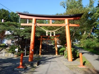 虻田神社_170916 第2,3鳥居.JPG