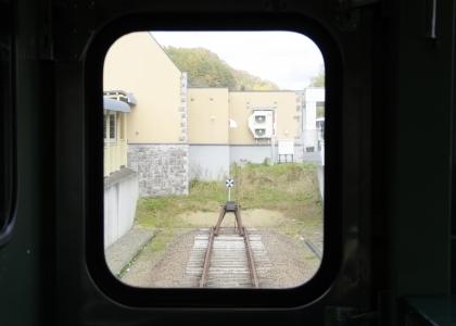 夕張駅レール終点_171021.jpg