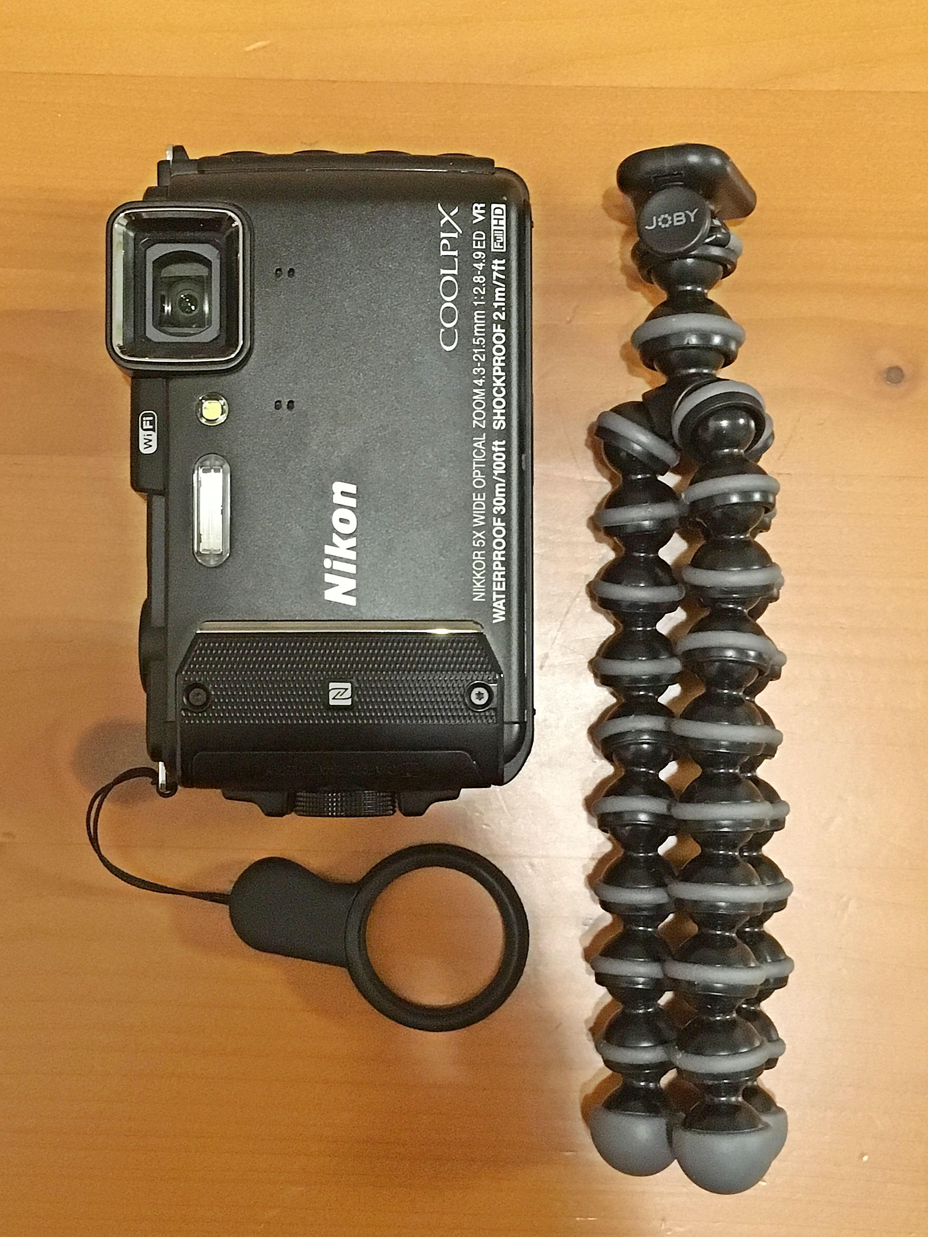 GorillaPod Original With AW130.JPG