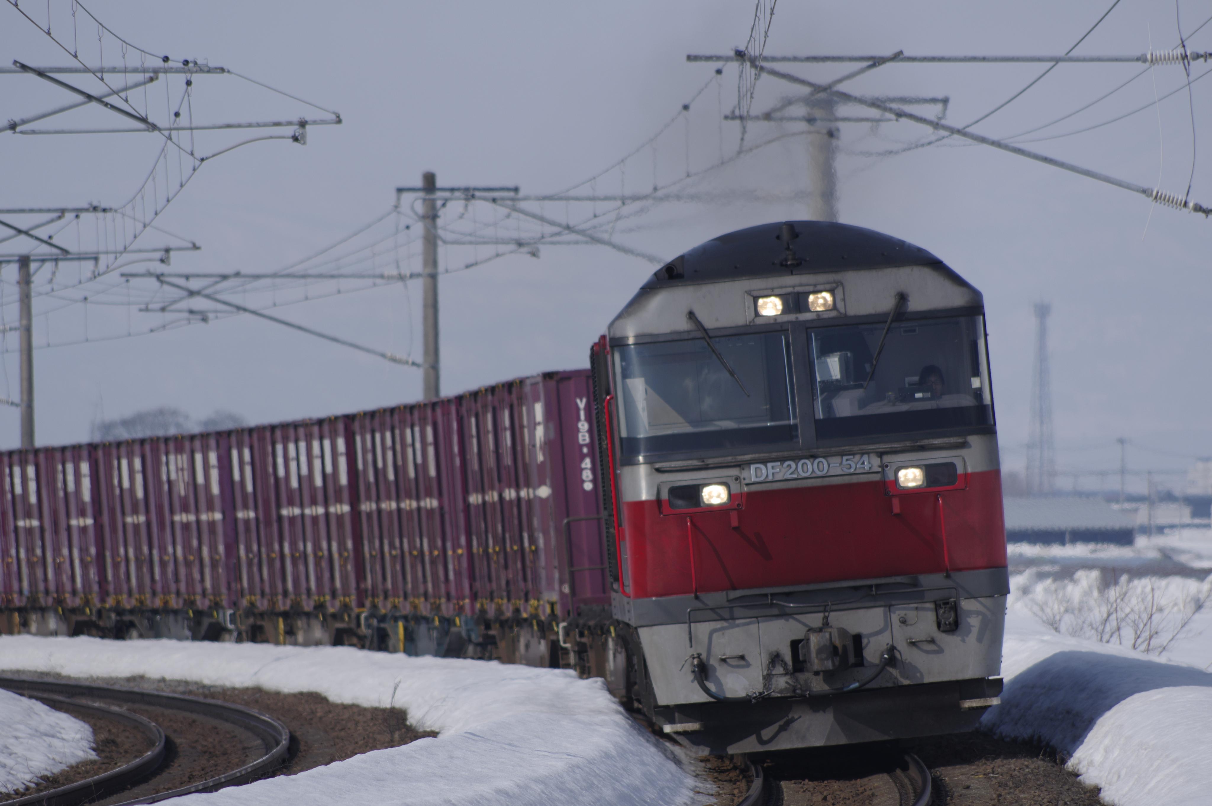 深川−納内 一已10丁目踏切 1083レ 貨物列車_180325.jpg