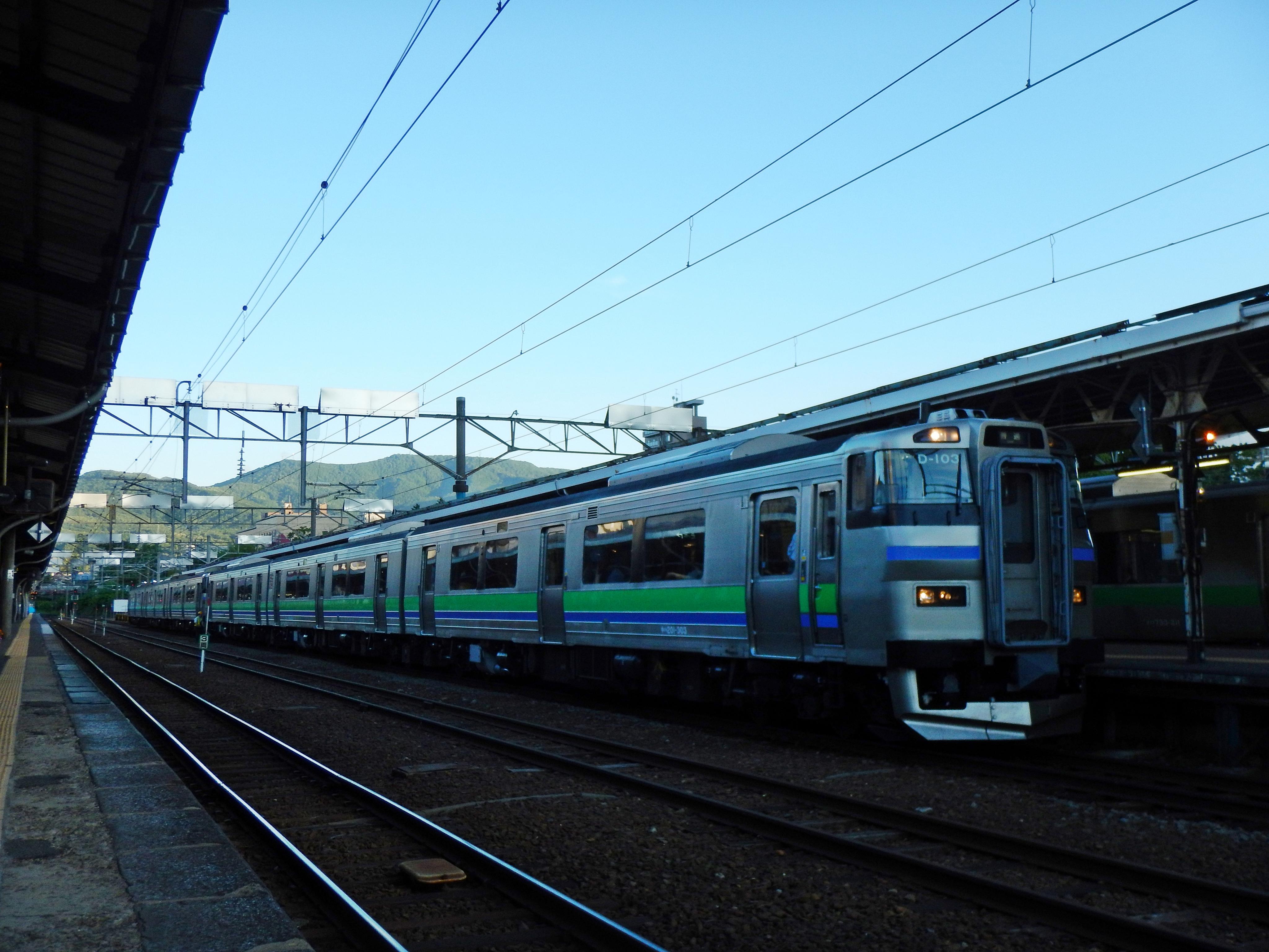 3954D キハ201系 ニセコライナー_小樽駅180622.JPG