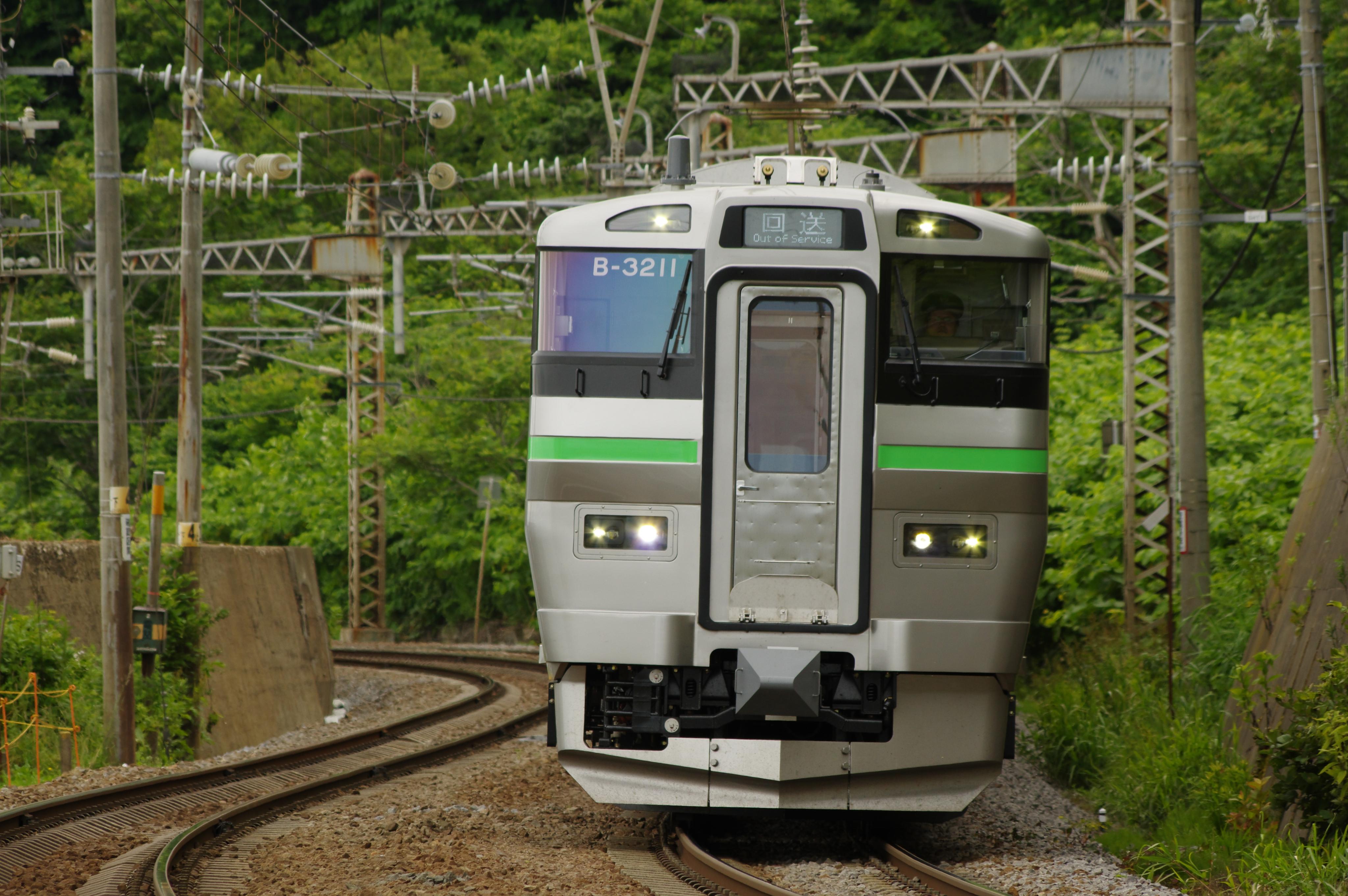 銭函ー朝里 733系回送列車_180707.jpg