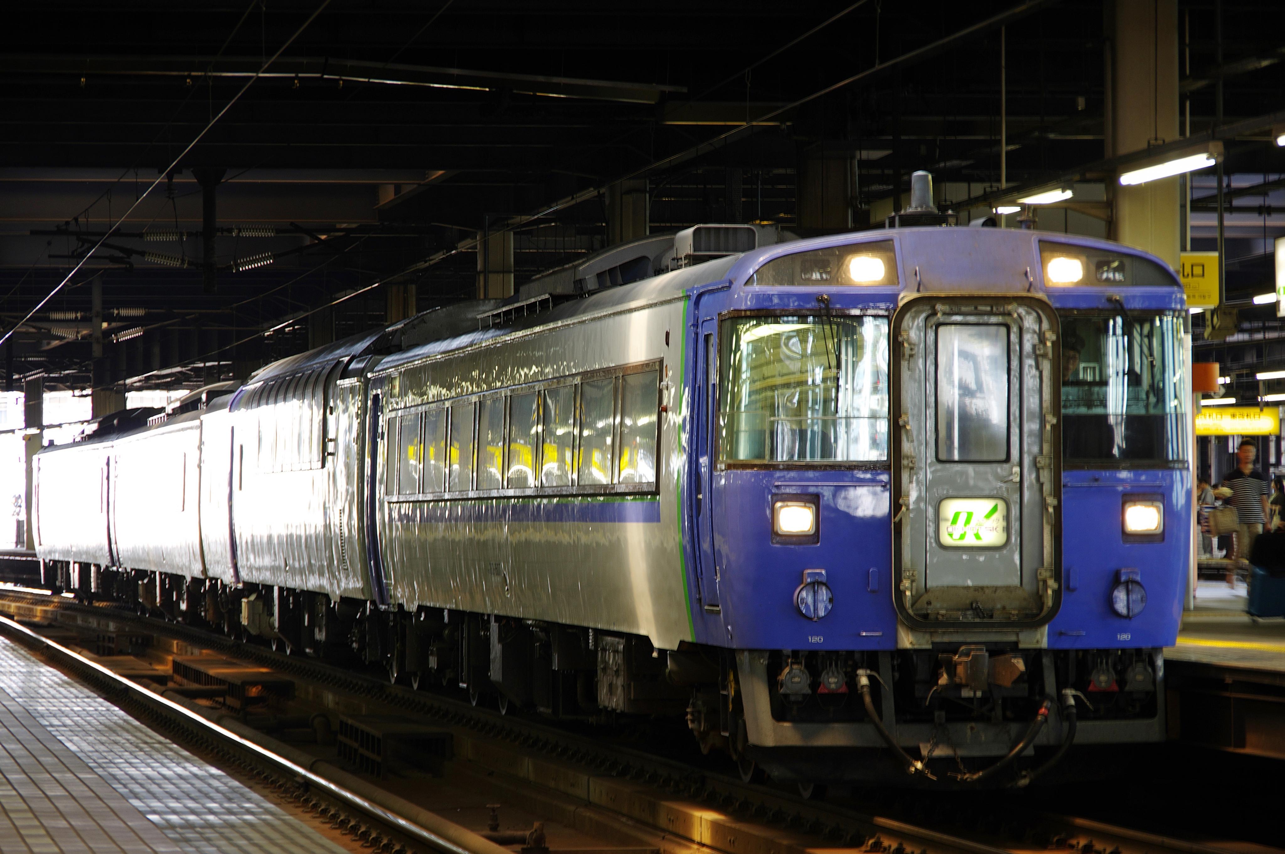 札幌駅 オホーツク2号_180714.jpg