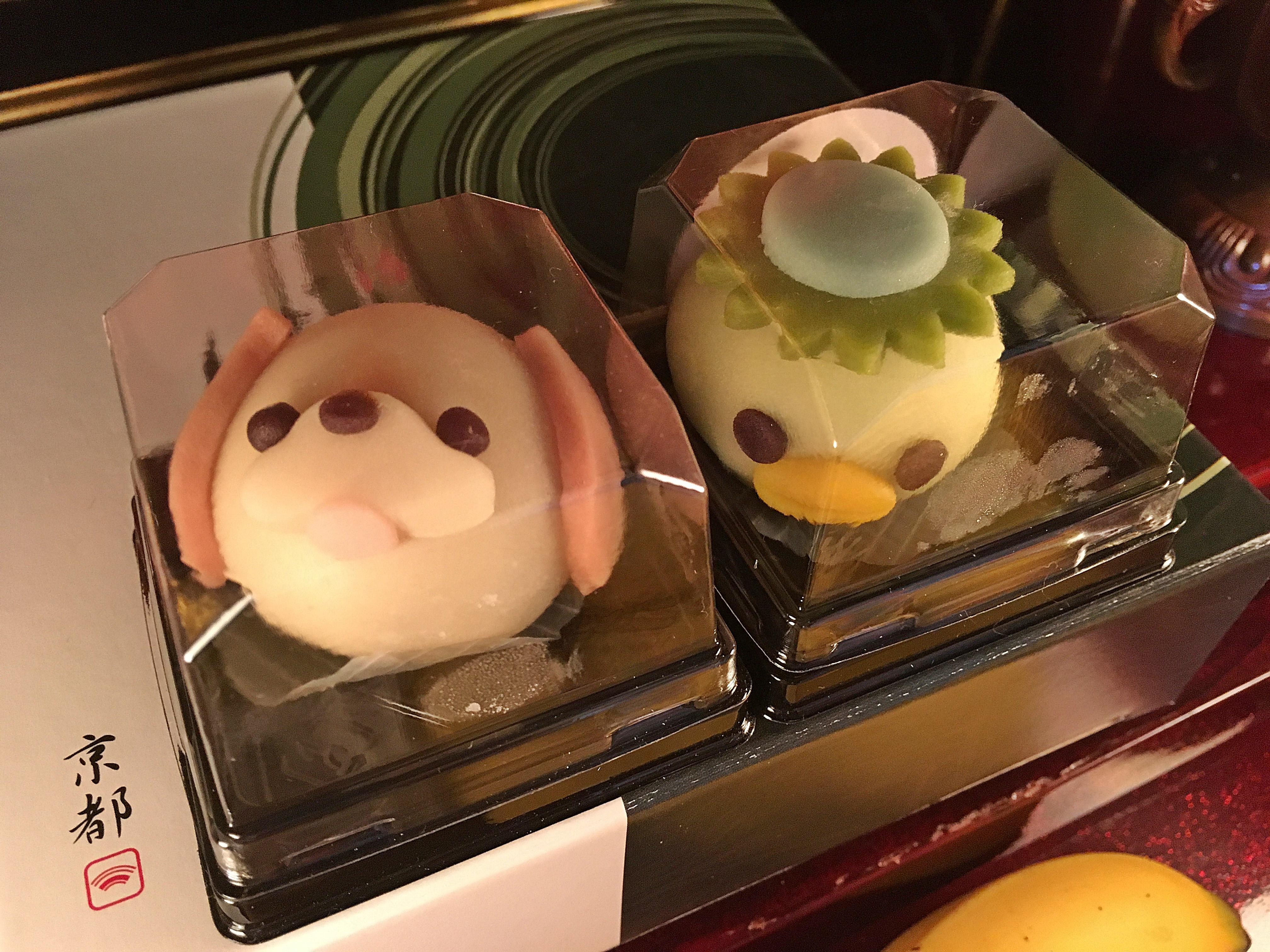 運がっぱと犬の和菓子.JPG