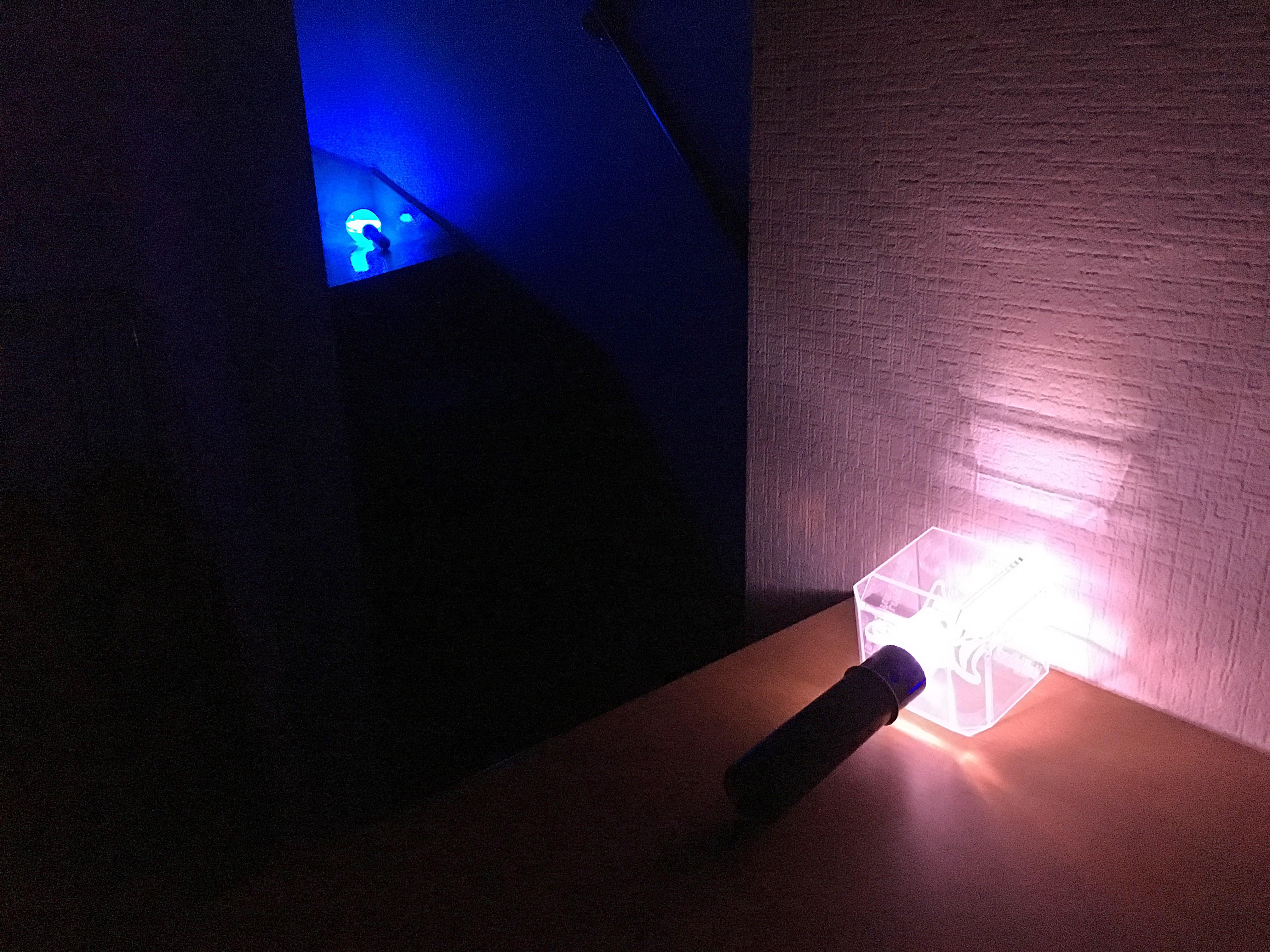 北海道胆振東部地震 停電時照明 嵐ペンライト 180906 (3).JPG