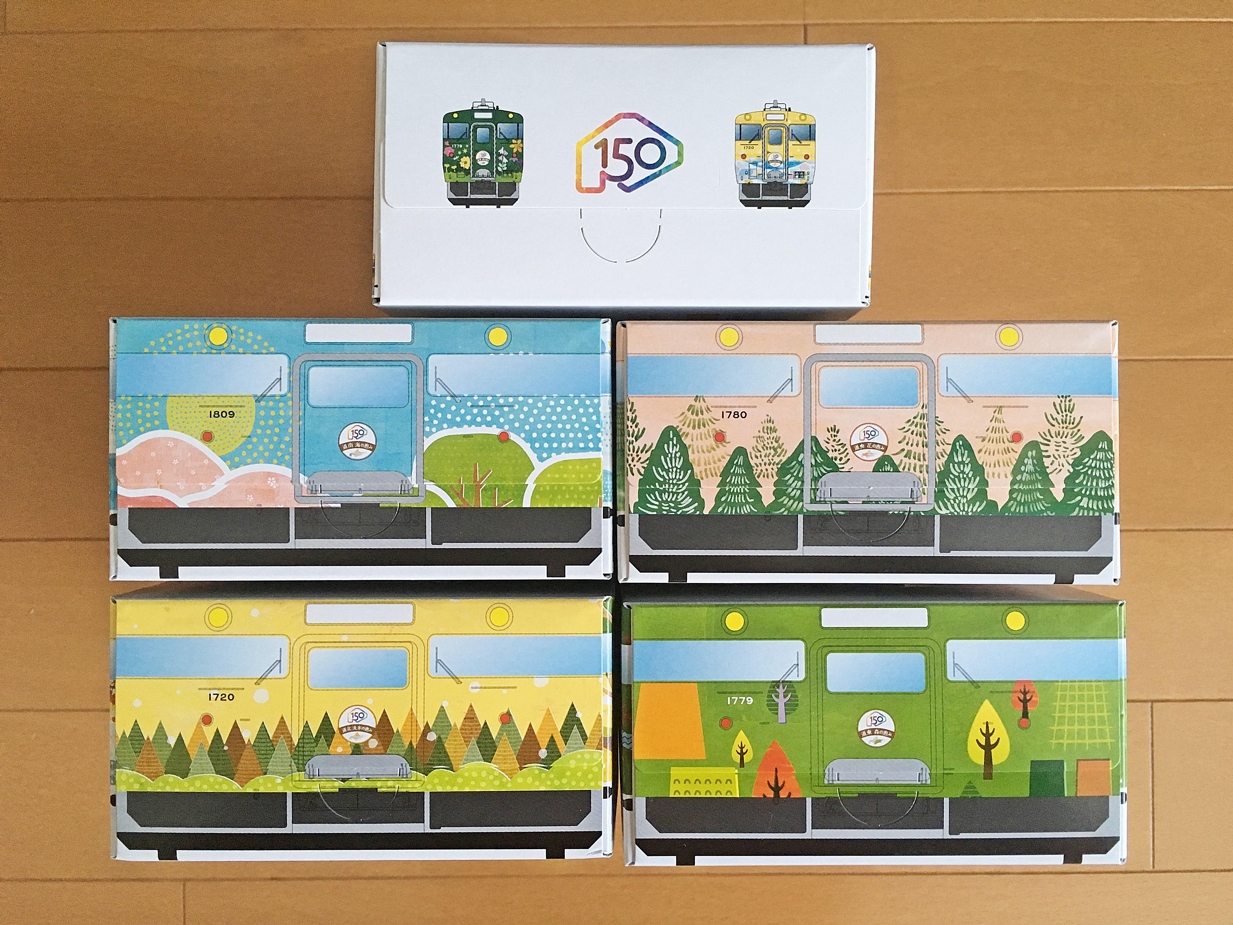 キハ40 北海道の恵み ティッシュボックス (3).JPG