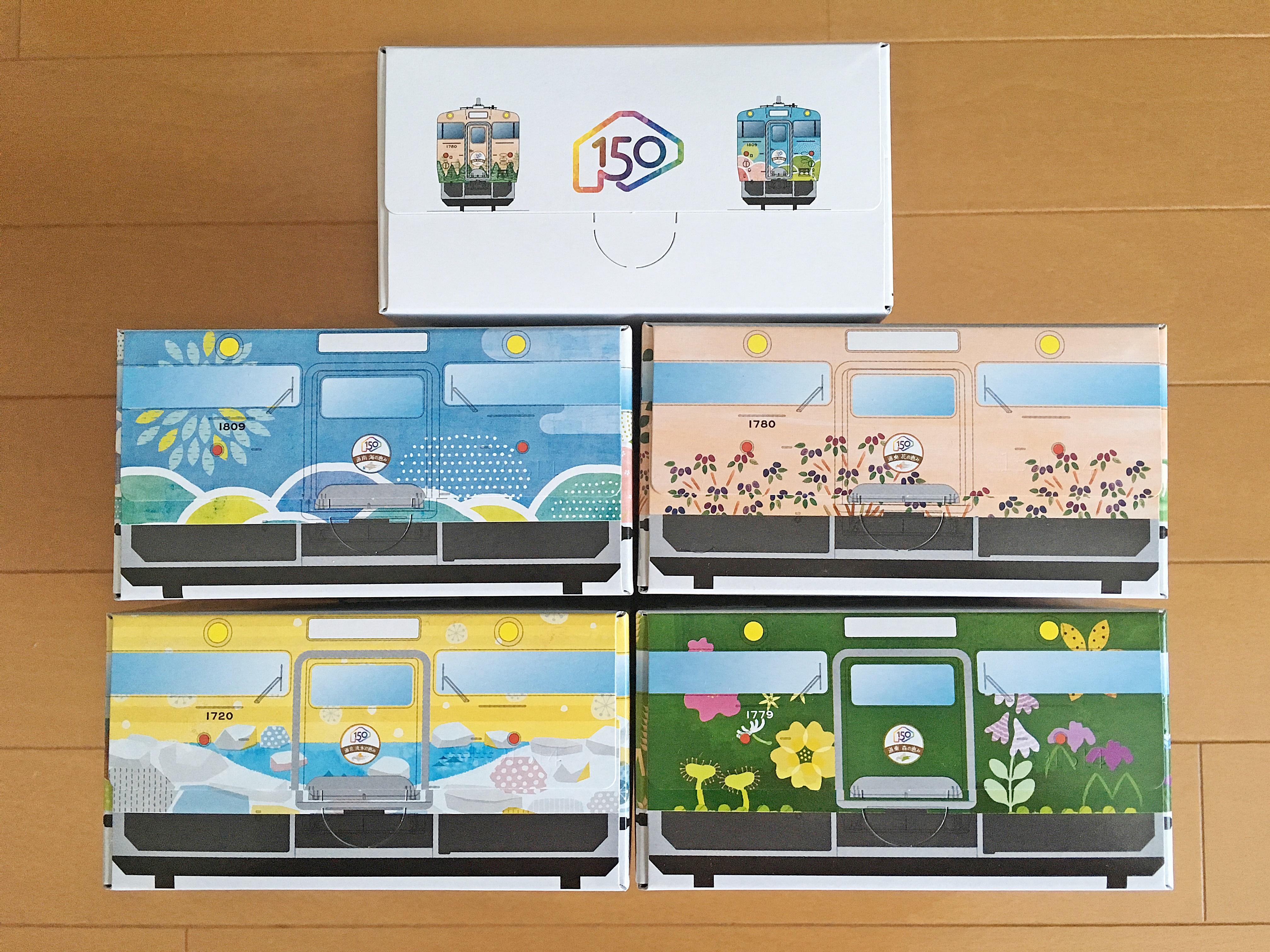 キハ40 北海道の恵み ティッシュボックス (4).JPG