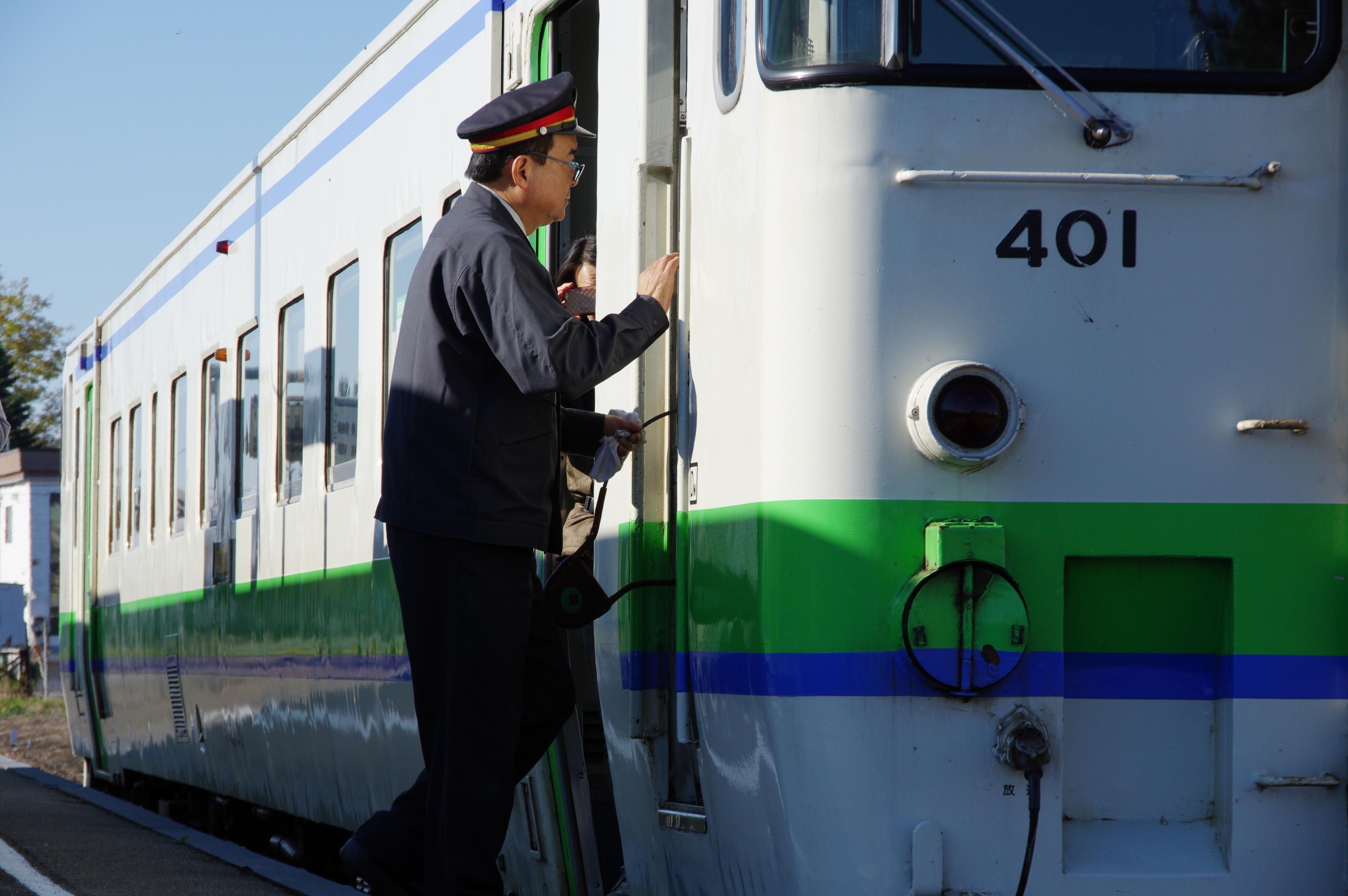 石狩月形駅 タブレット交換_181014.jpg