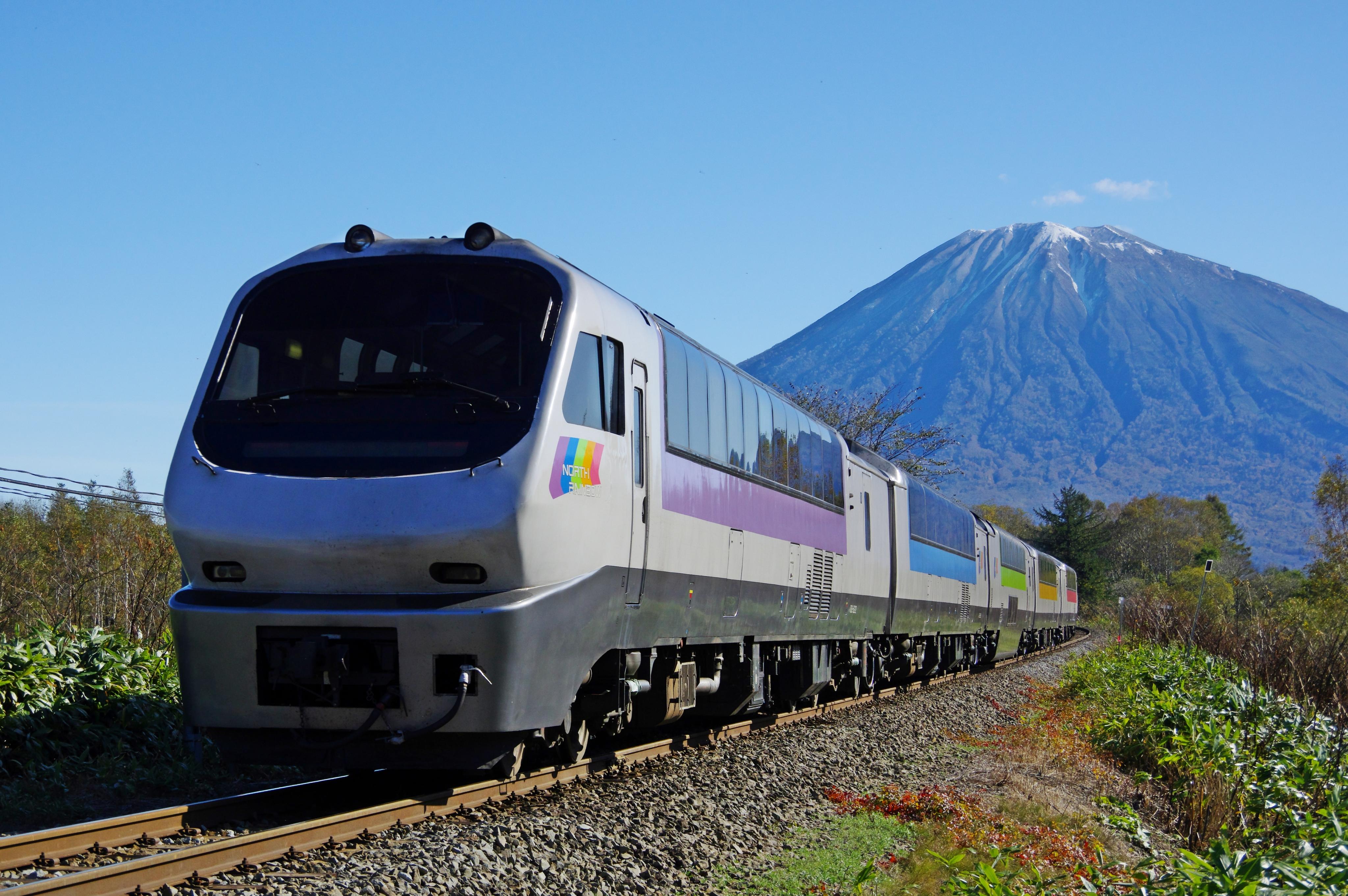 ノースレインボーエクスプレス 9014D 小沢−倶知安 北四線踏切 181019.jpg
