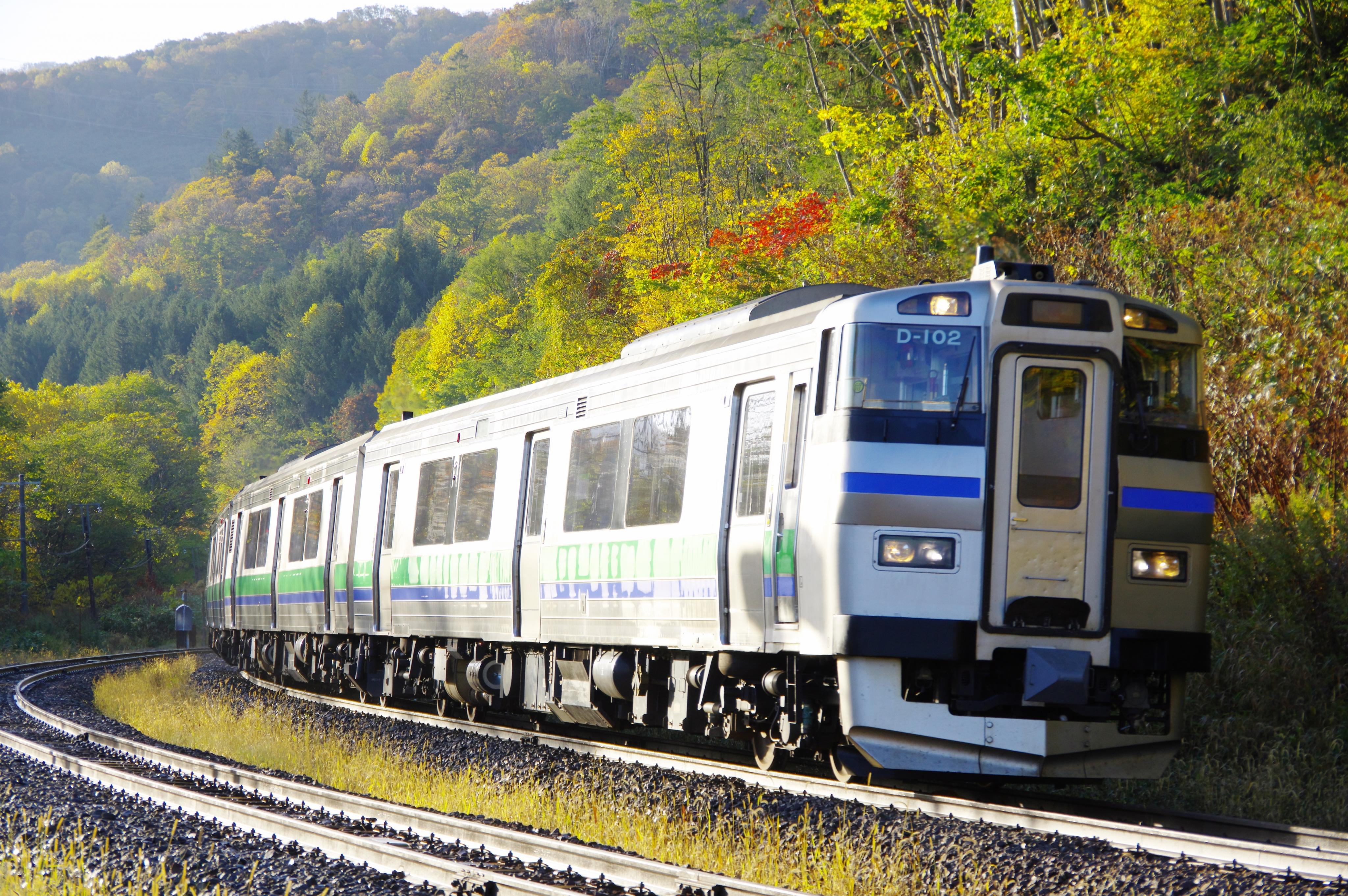 キハ201系 3925D 快速ニセコライナー アップ 銀山駅 181021.jpg