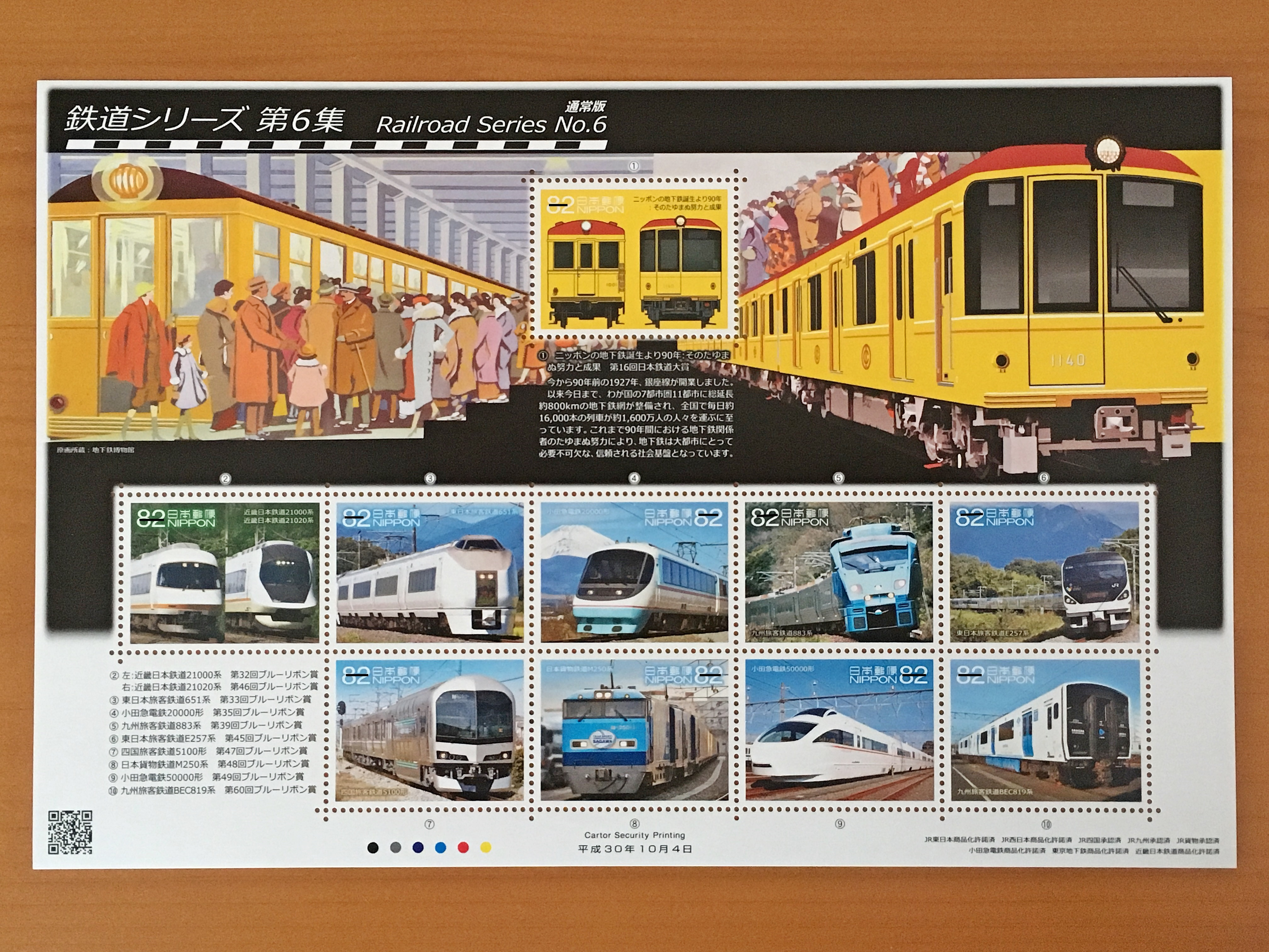鉄道シリーズ第6集 通常版.JPG