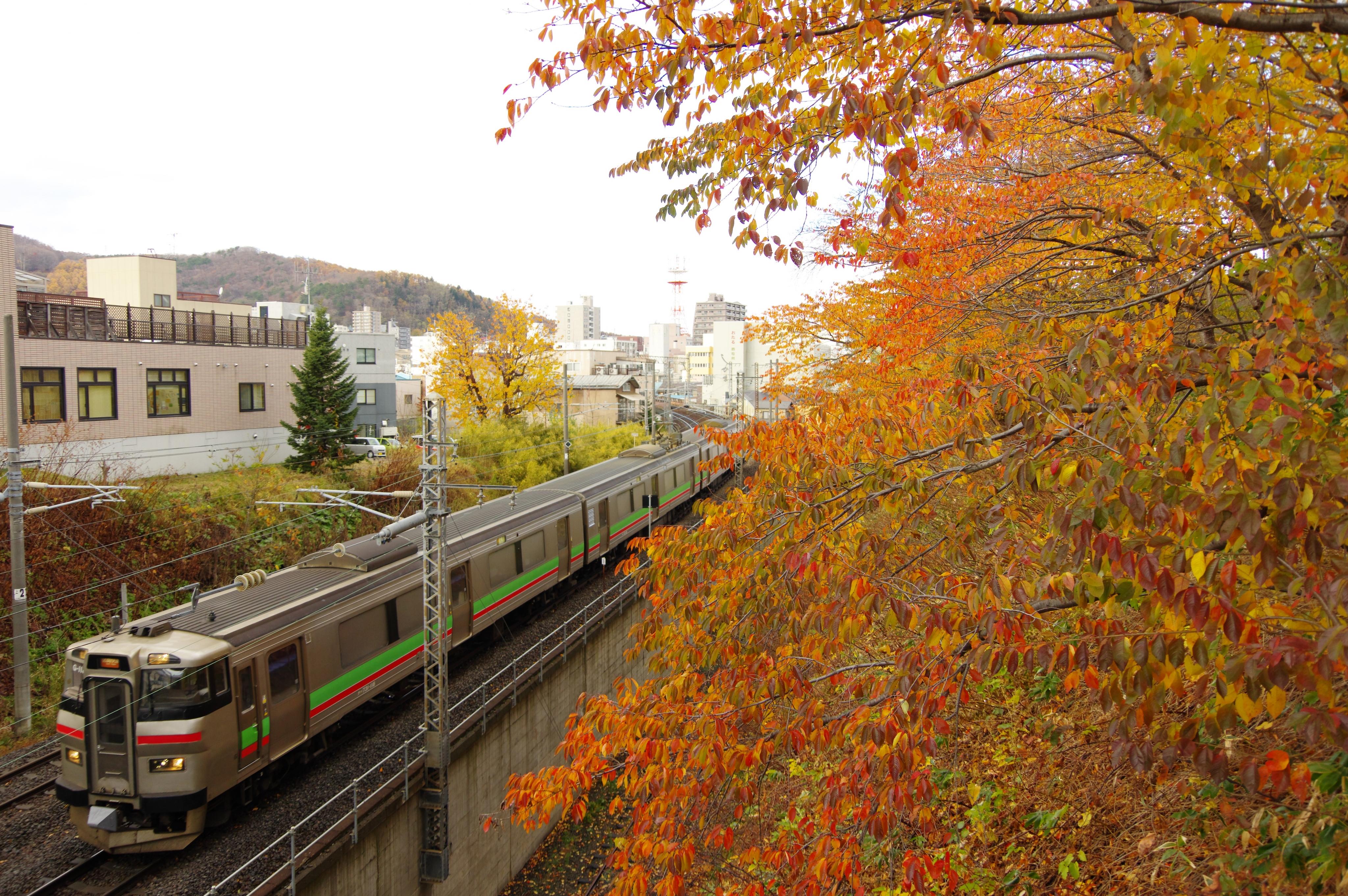 731系 3433M 区間快速いしかりライナー 小樽−南小樽 花園橋_181115.jpg