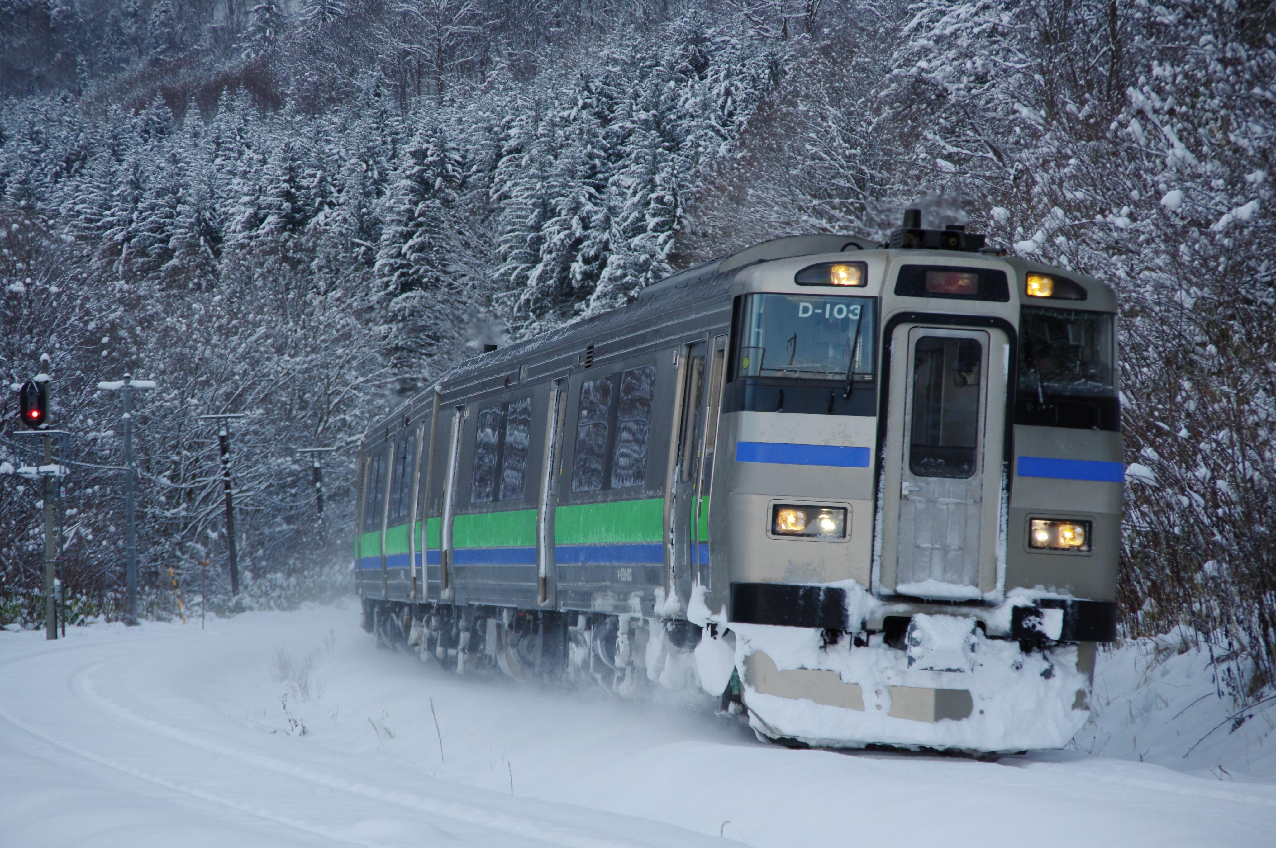 銀山駅 3925D 快速ニセコライナー_181124.jpg