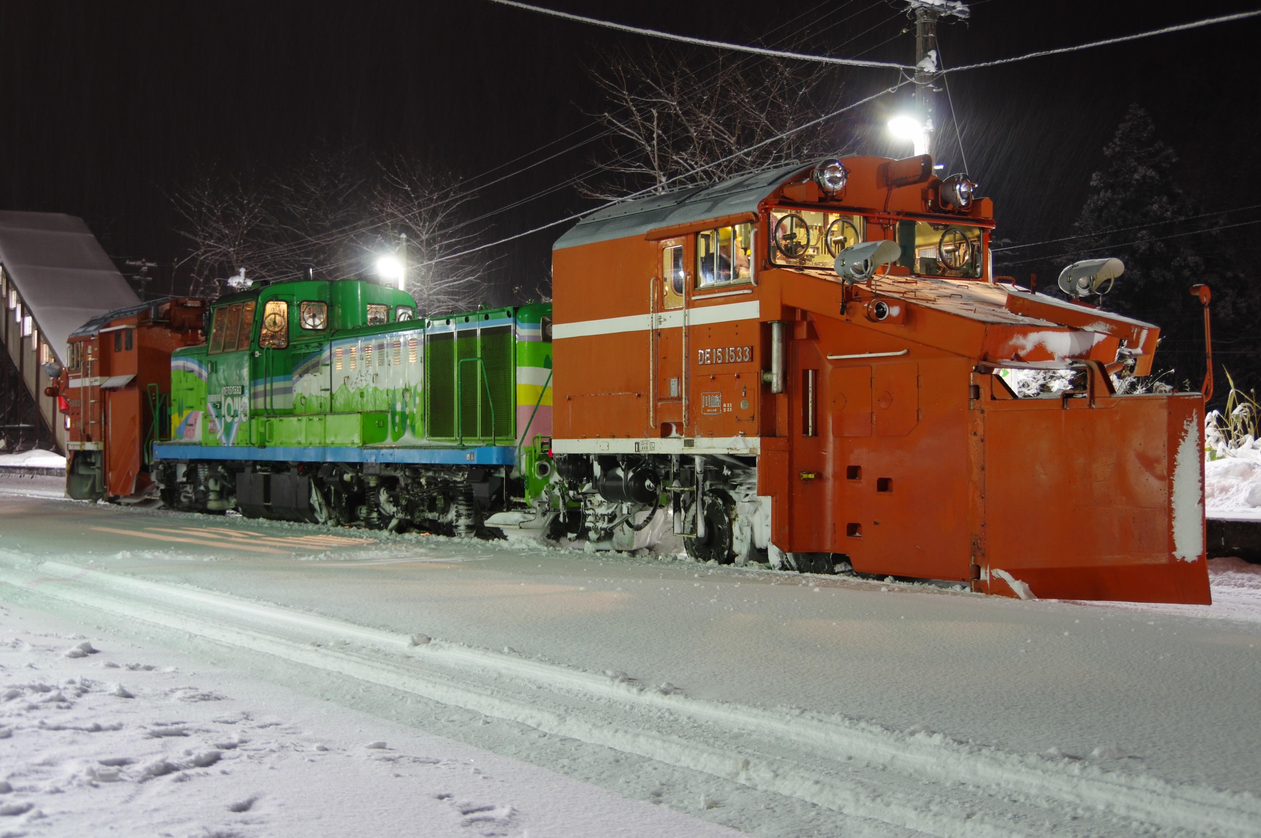 雪122レ DE15-1533機 蘭島駅.jpg