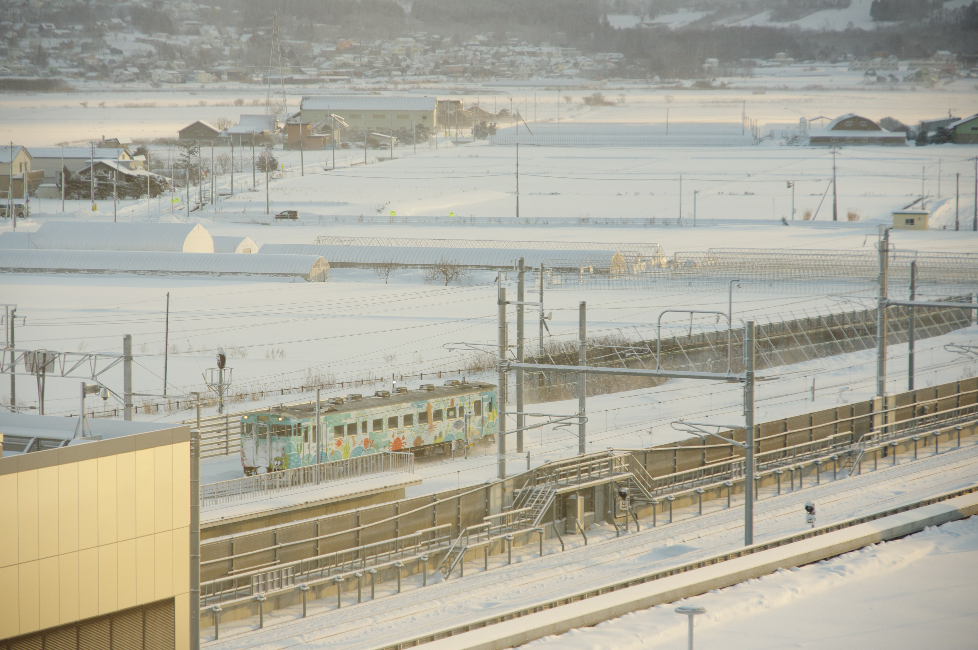 ホテル・ラ・ジェント・プラザ函館北斗 トレインビュープラン 4851D キハ40 海の恵み.jpg