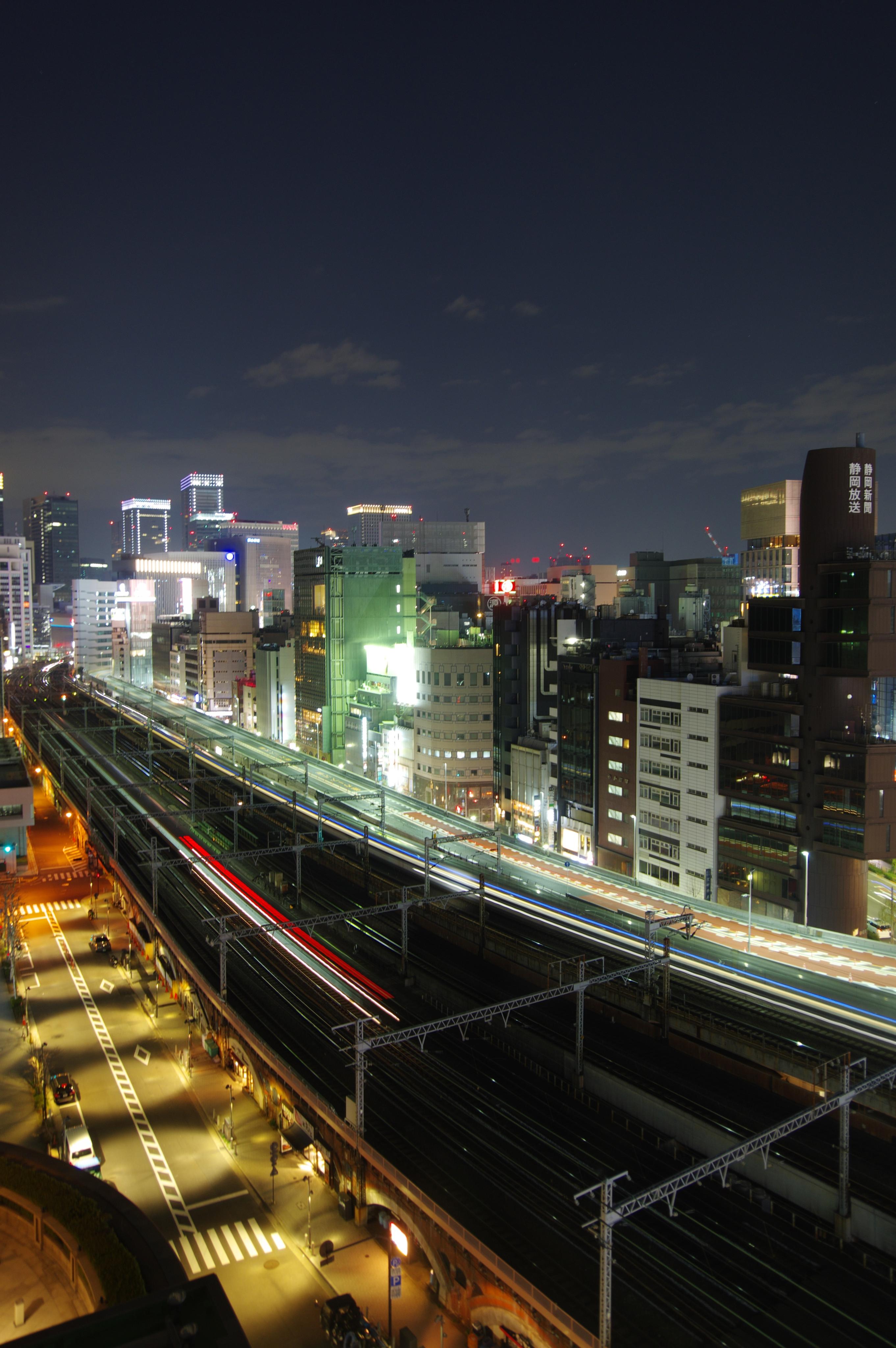 相鉄フレッサイン新橋日比谷口トレインビュー_190224 夜景.jpg