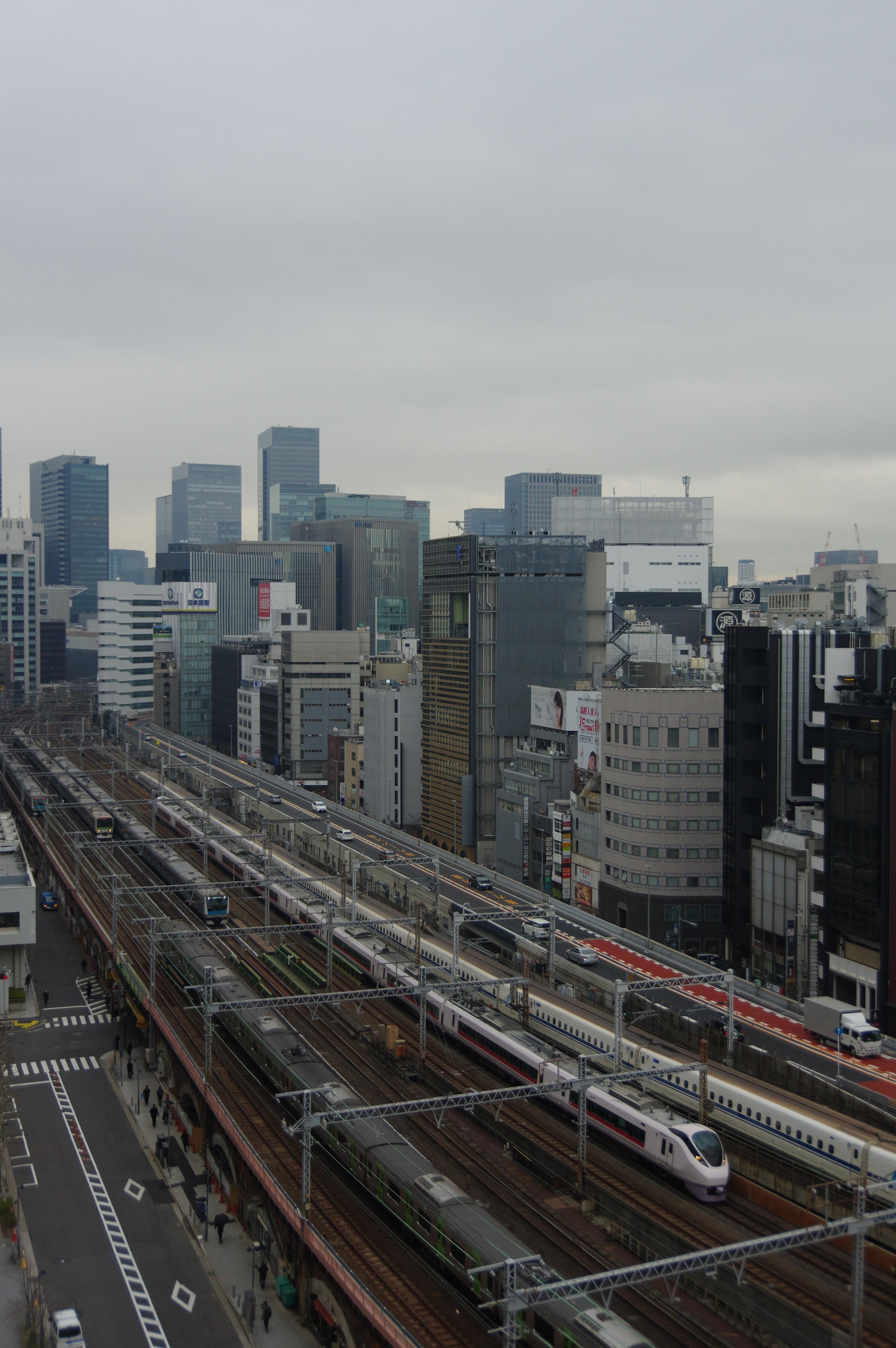 相鉄フレッサイン新橋日比谷口トレインビュー_190225 6列車.jpg