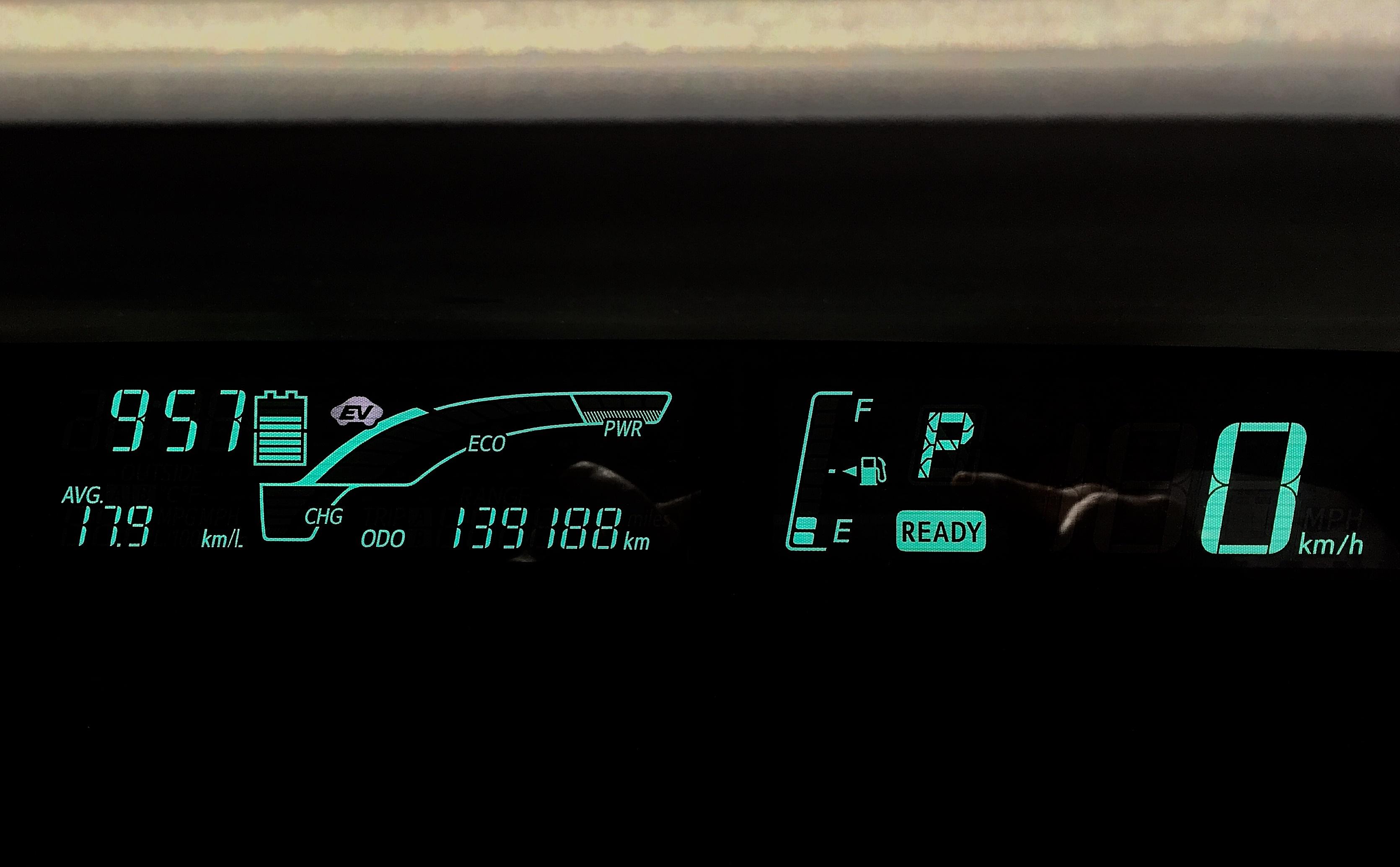 Prius C 総走行距離_190428.JPG
