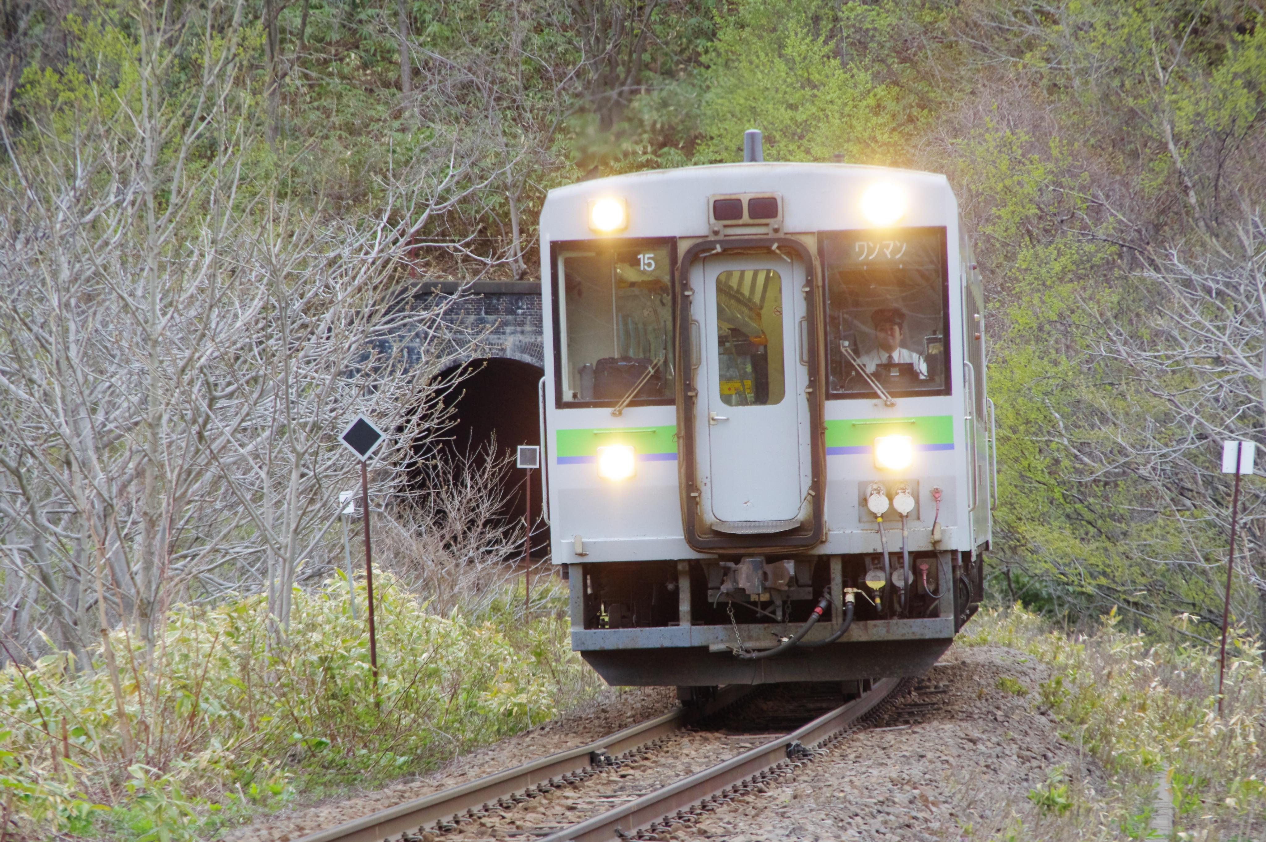 キハ150 1926D 塩谷−蘭島 桃内トンネル抜け出し_190501.jpg