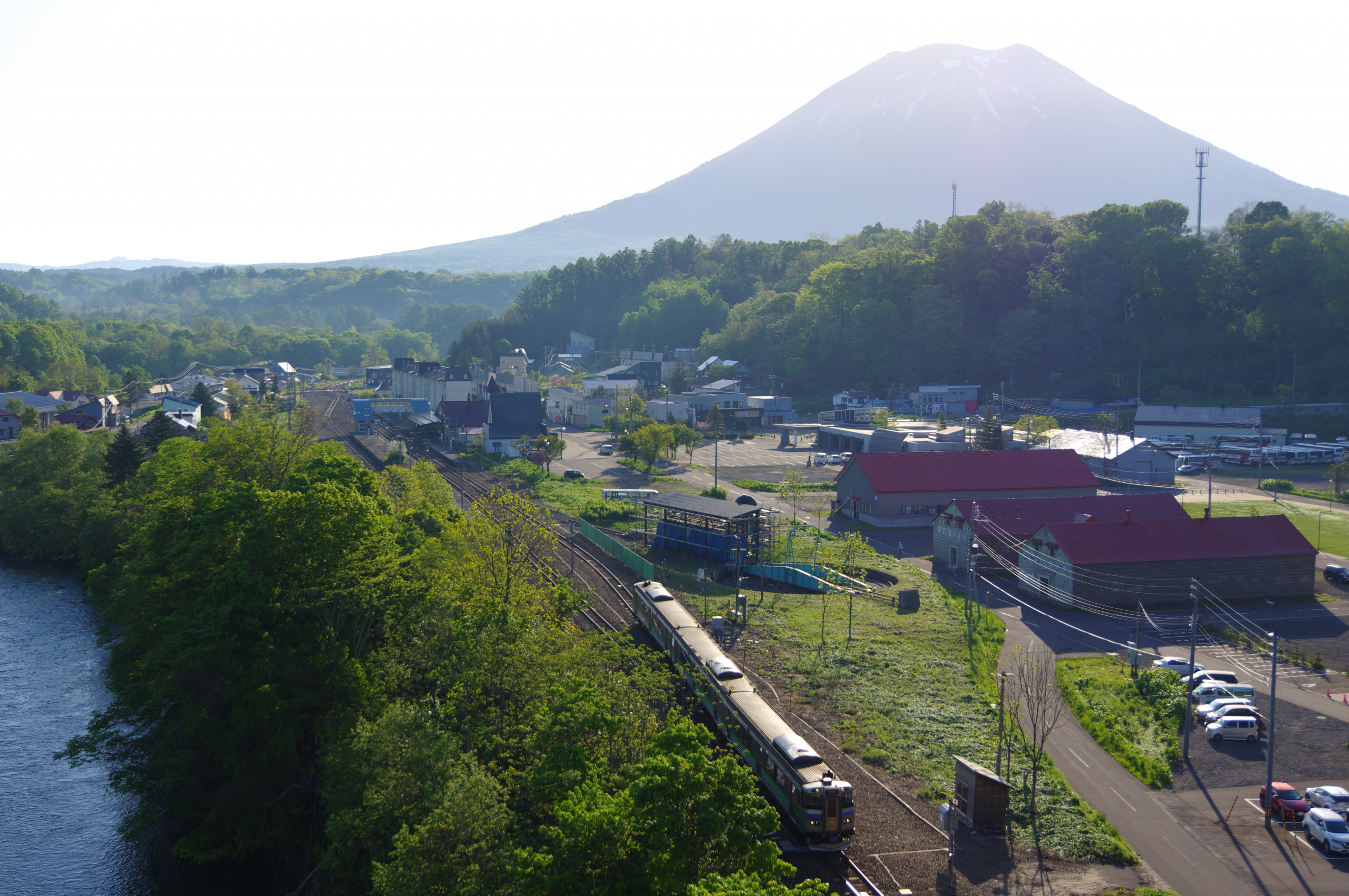 キハ201 回5922D ニセコ駅_190525.jpg