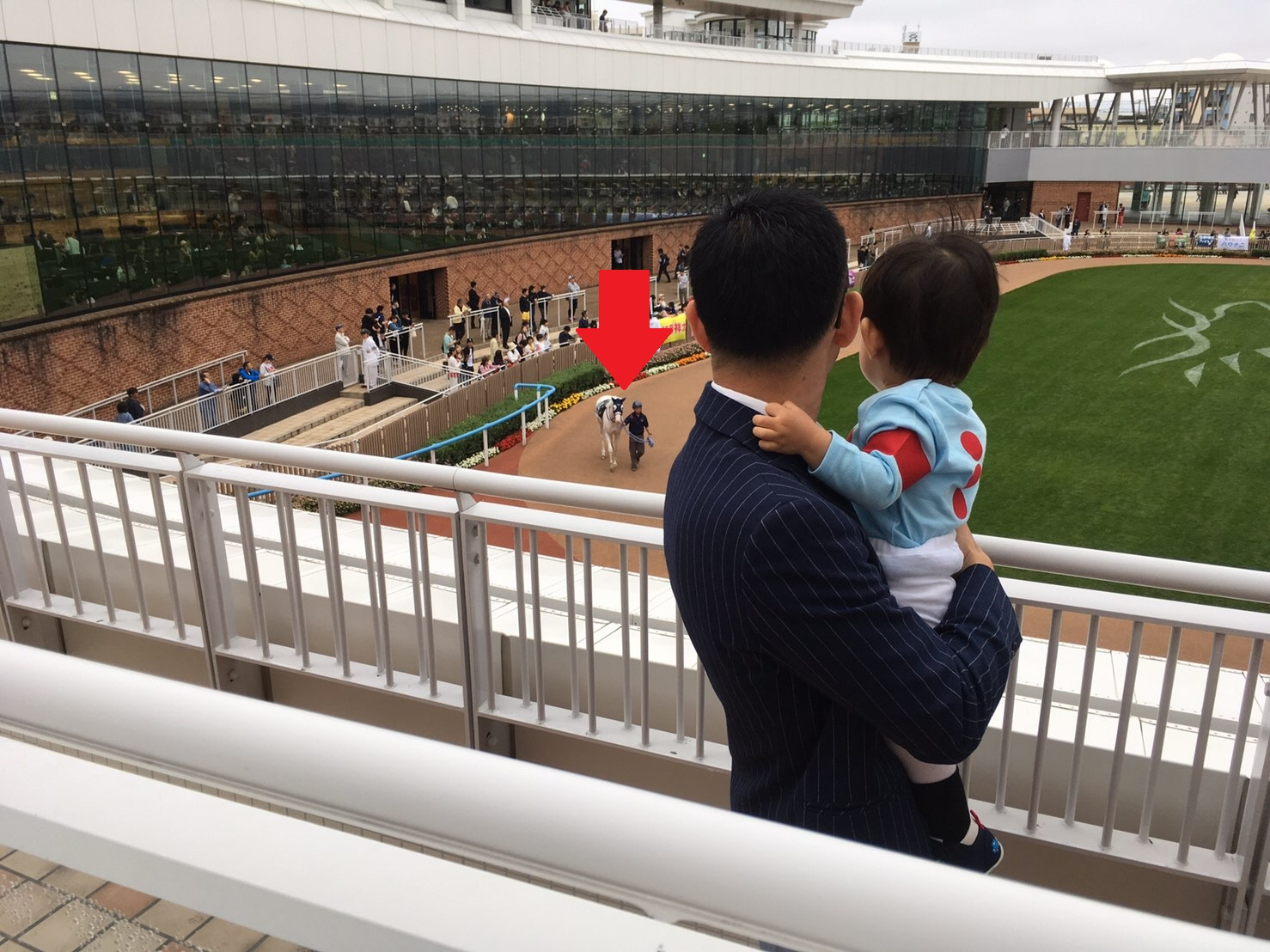 シルクレーシング キッズ勝負服80サイズ パドック.JPG