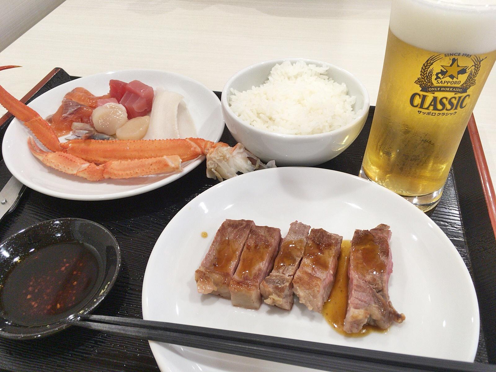 イマジン ホテル&リゾート 函館 夕食.JPG