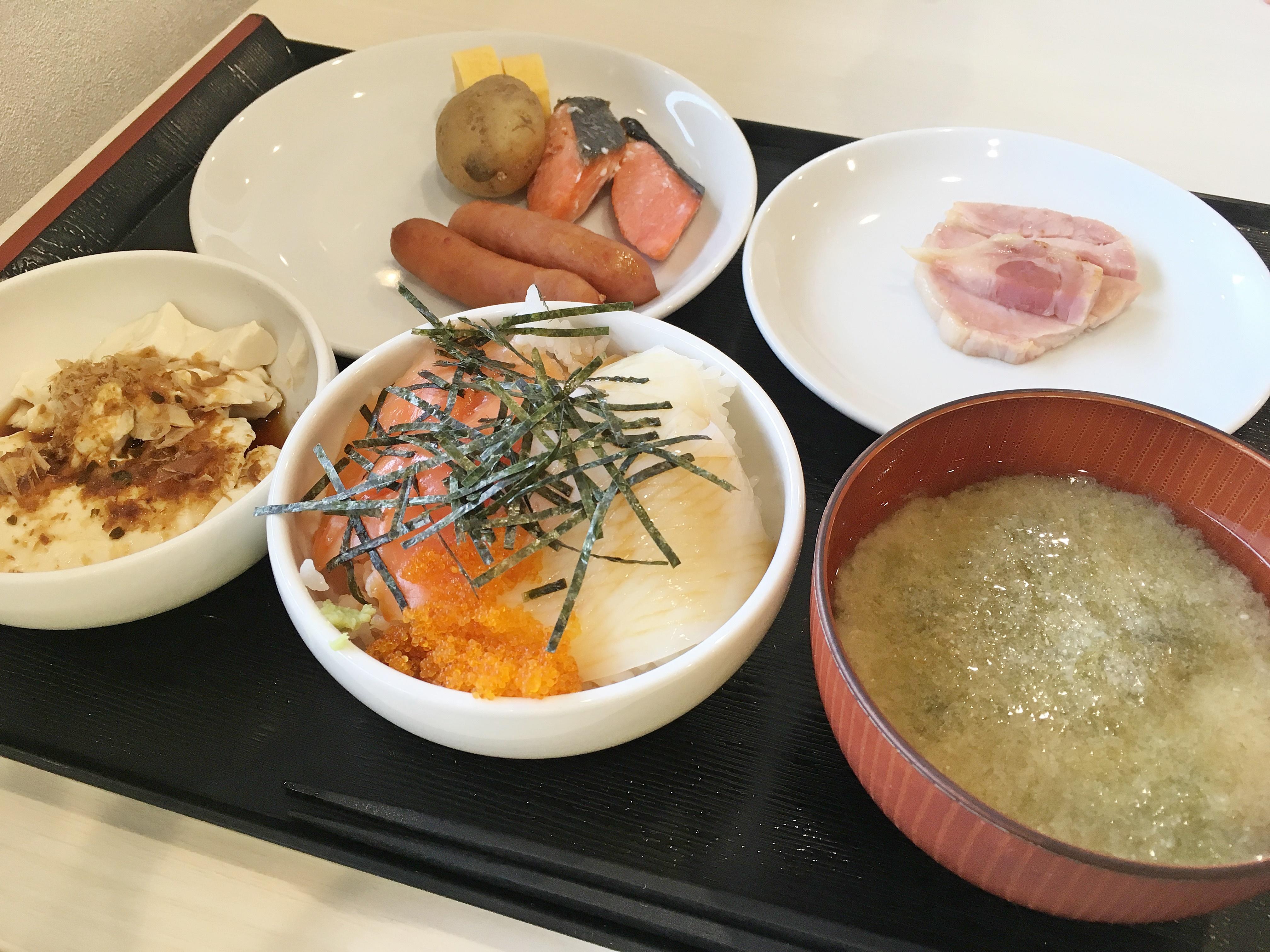イマジン ホテル&リゾート 函館 朝食.JPG
