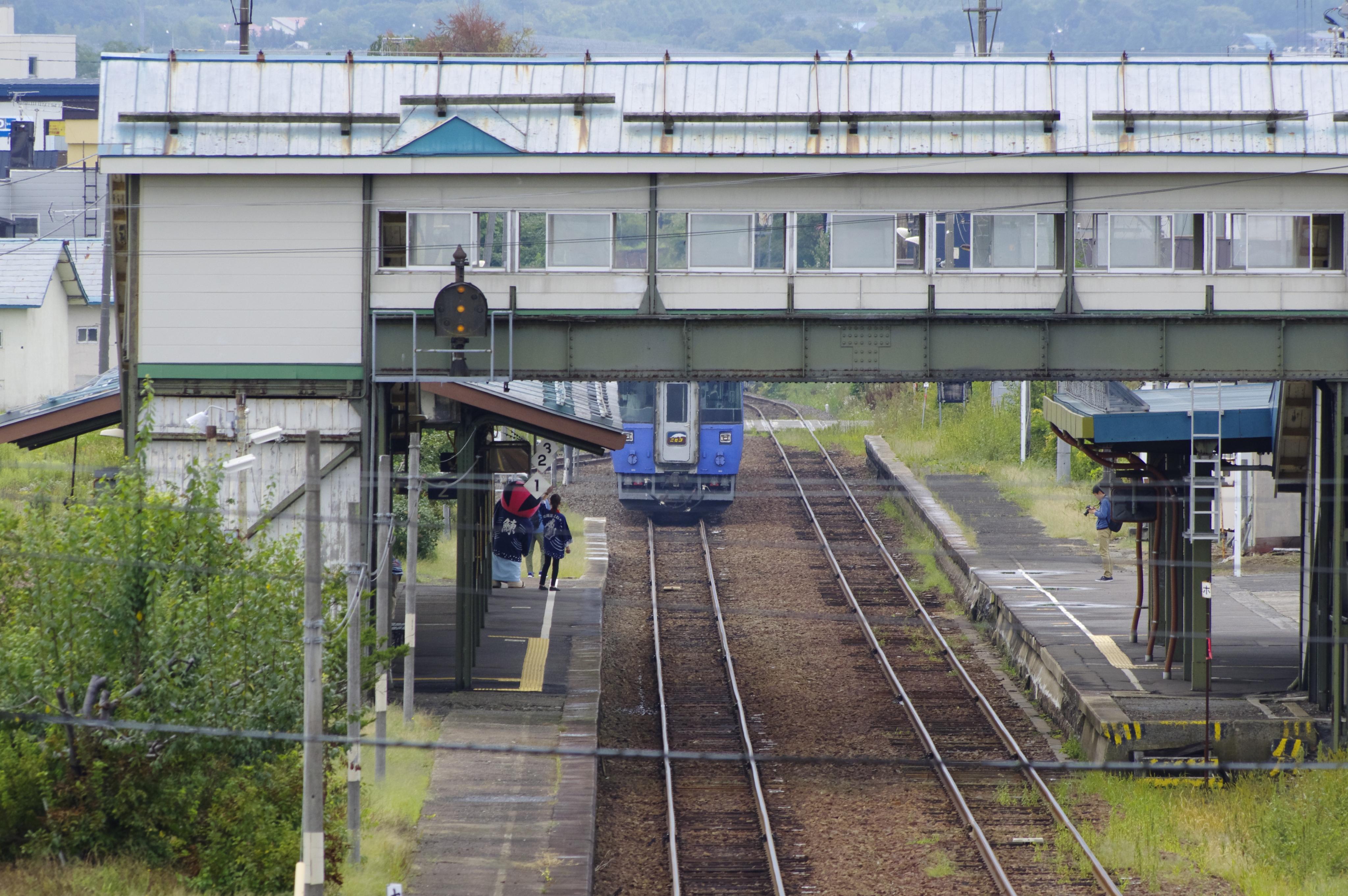 キハ183 特急ニセコ 余市駅出発 190907.jpg