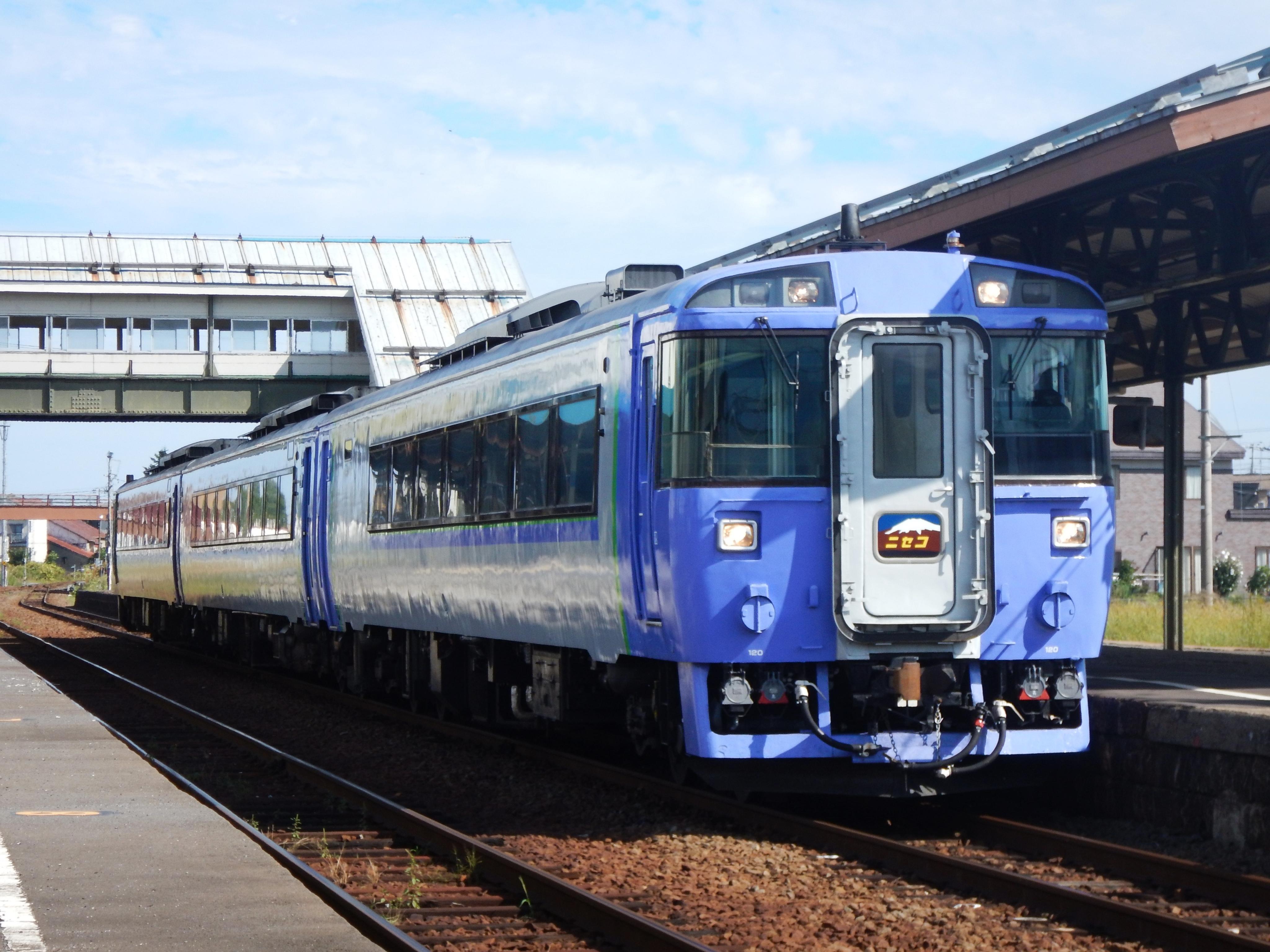 キハ183 特急ニセコ 余市駅 190908.JPG