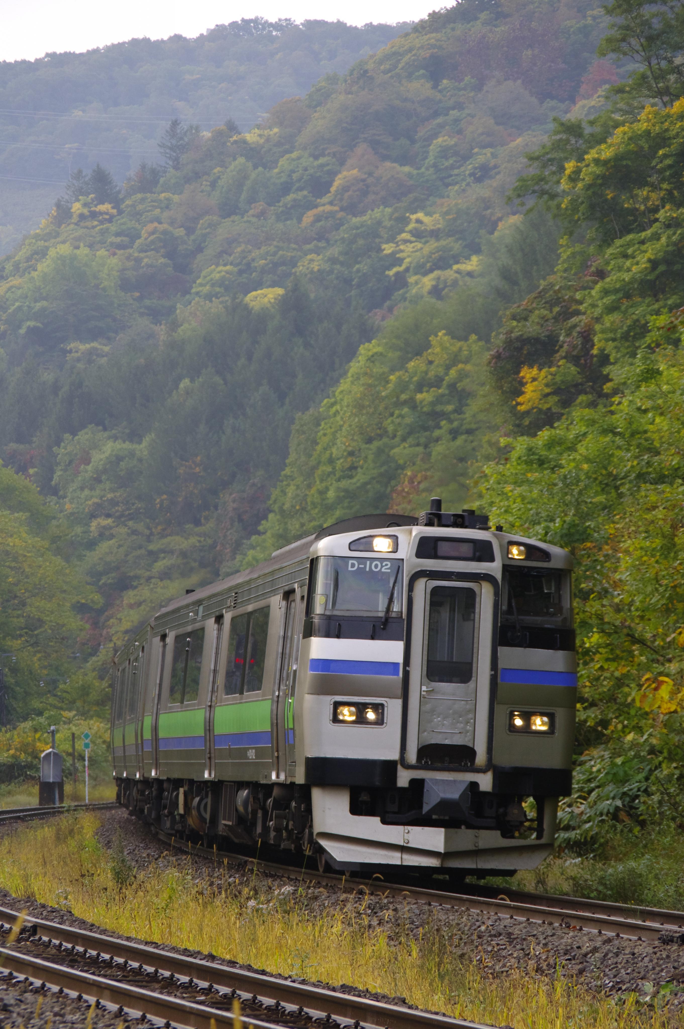 キハ201 3925D 快速ニセコライナー 銀山駅入線アップ_191003.jpg