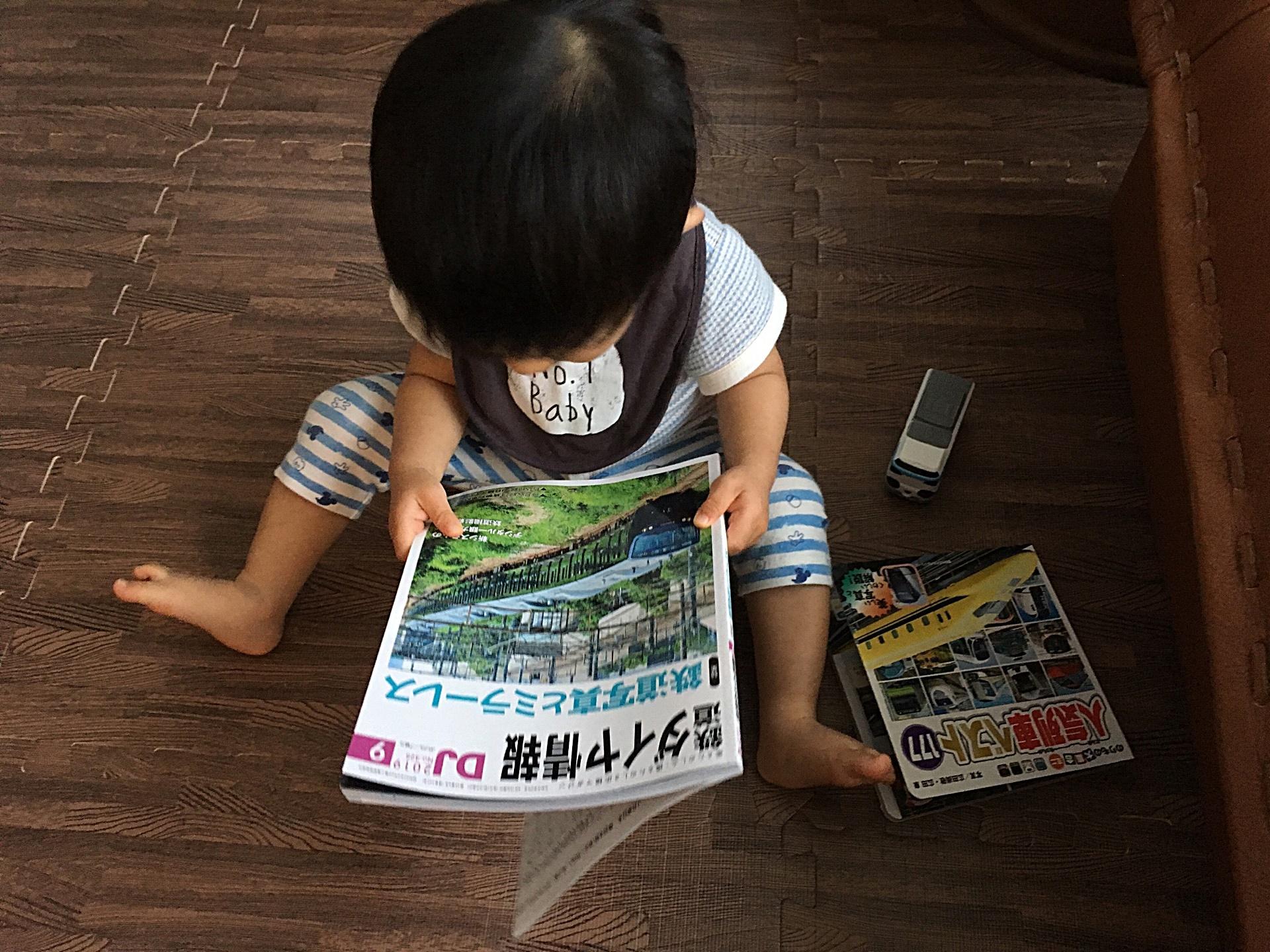 輝堂ダイヤ情報を見る愛息.JPG