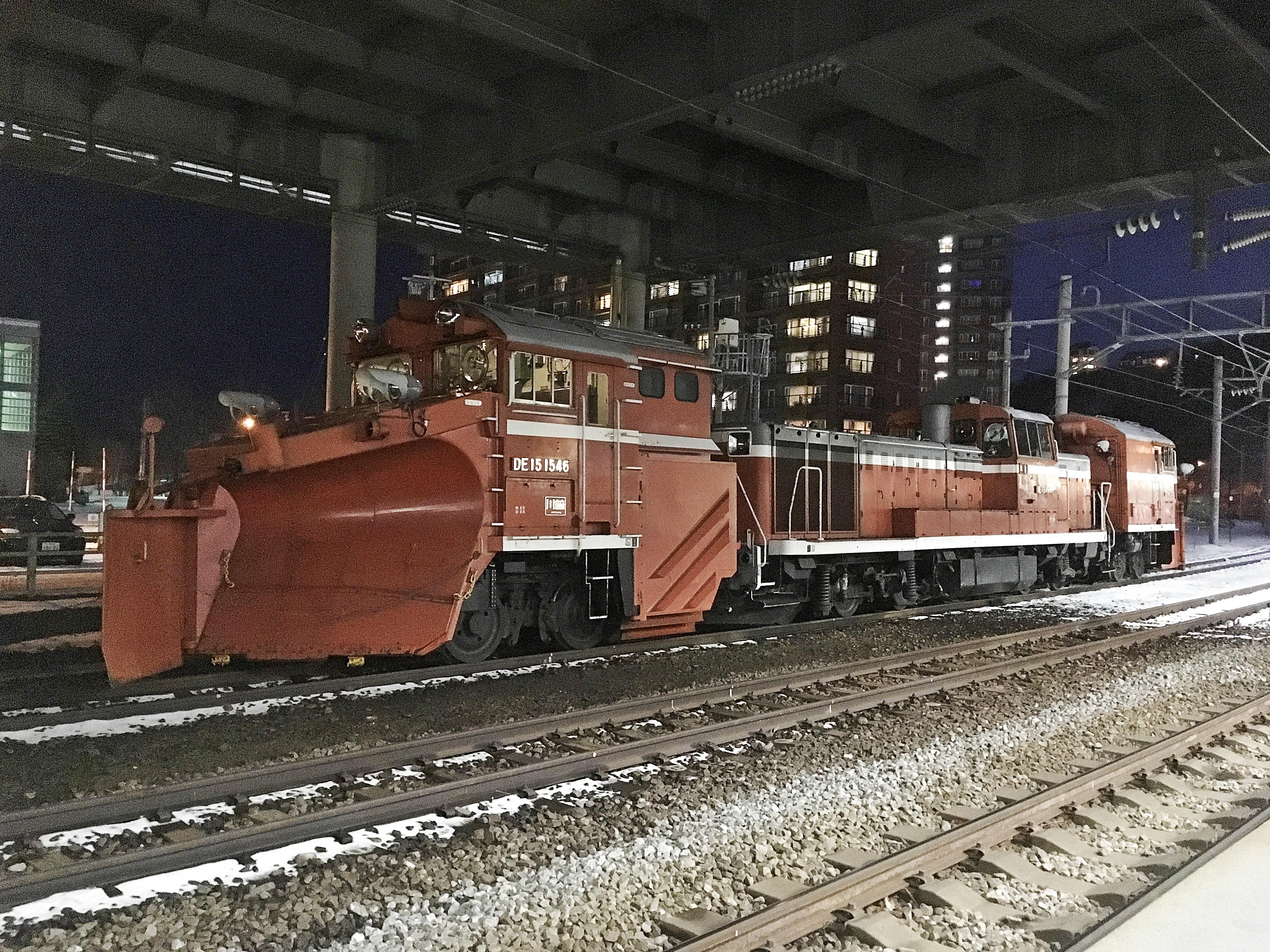 山線ラッセル 小樽築港駅 191210.JPG
