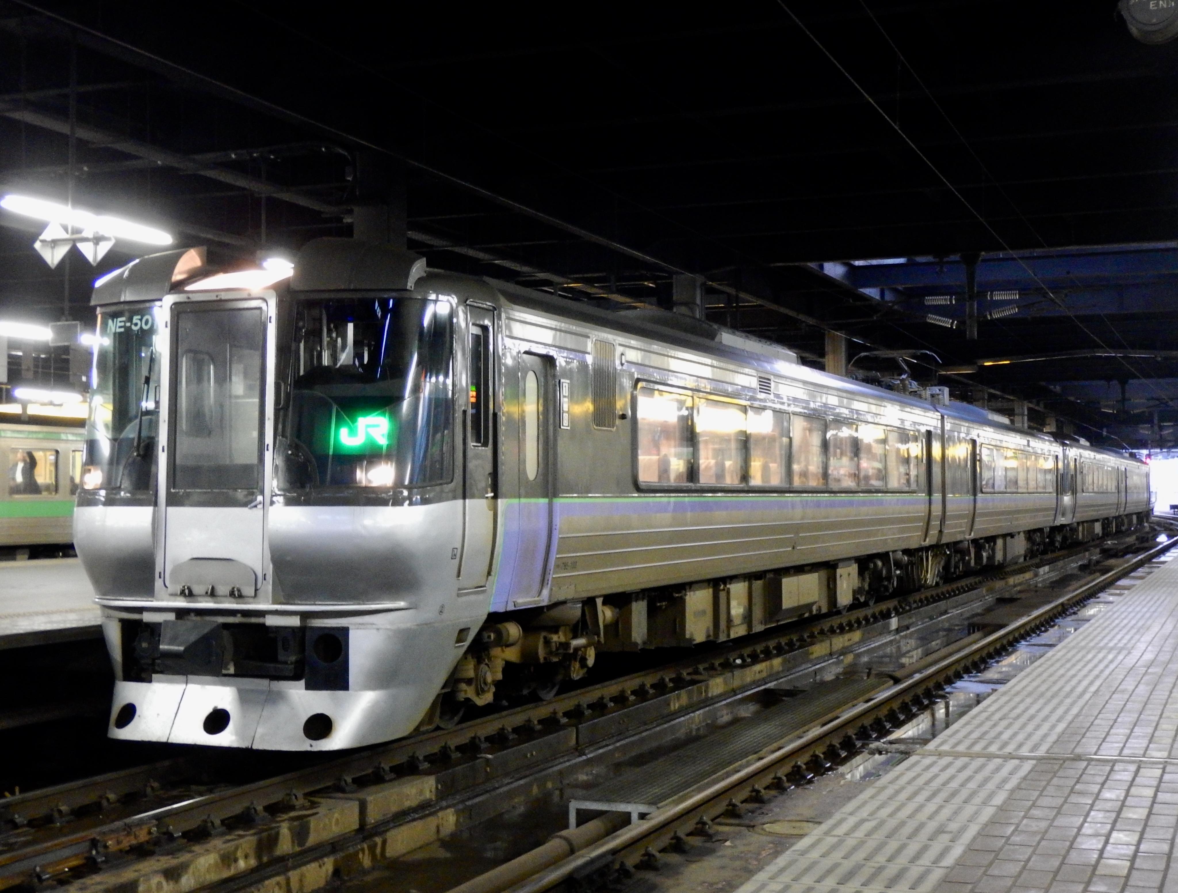 785系 特急すずらん8号 JR幕 札幌駅_191210.JPG