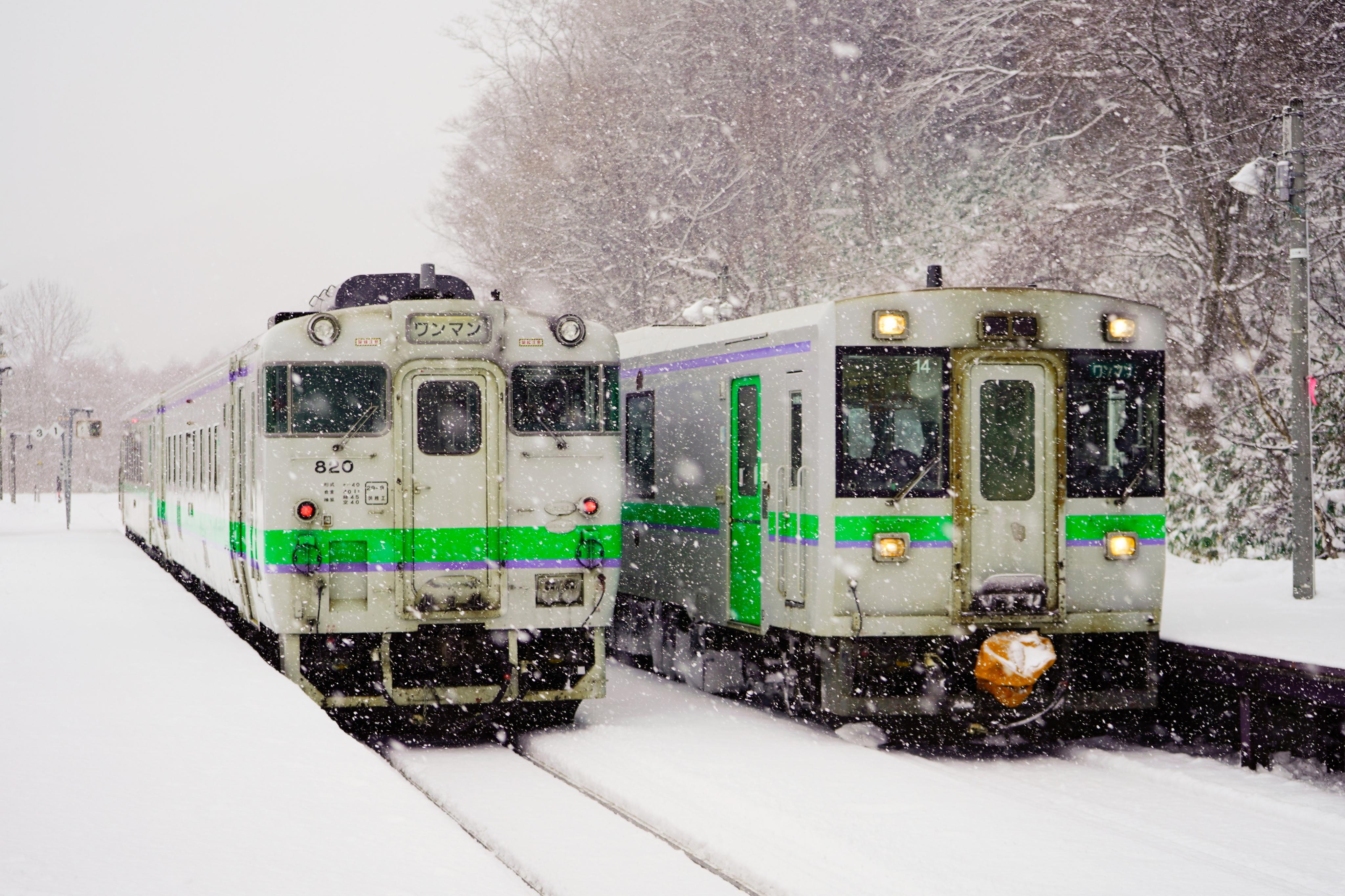 キハ150 1939D&キハ40 1940D  銀山駅 200112.jpg