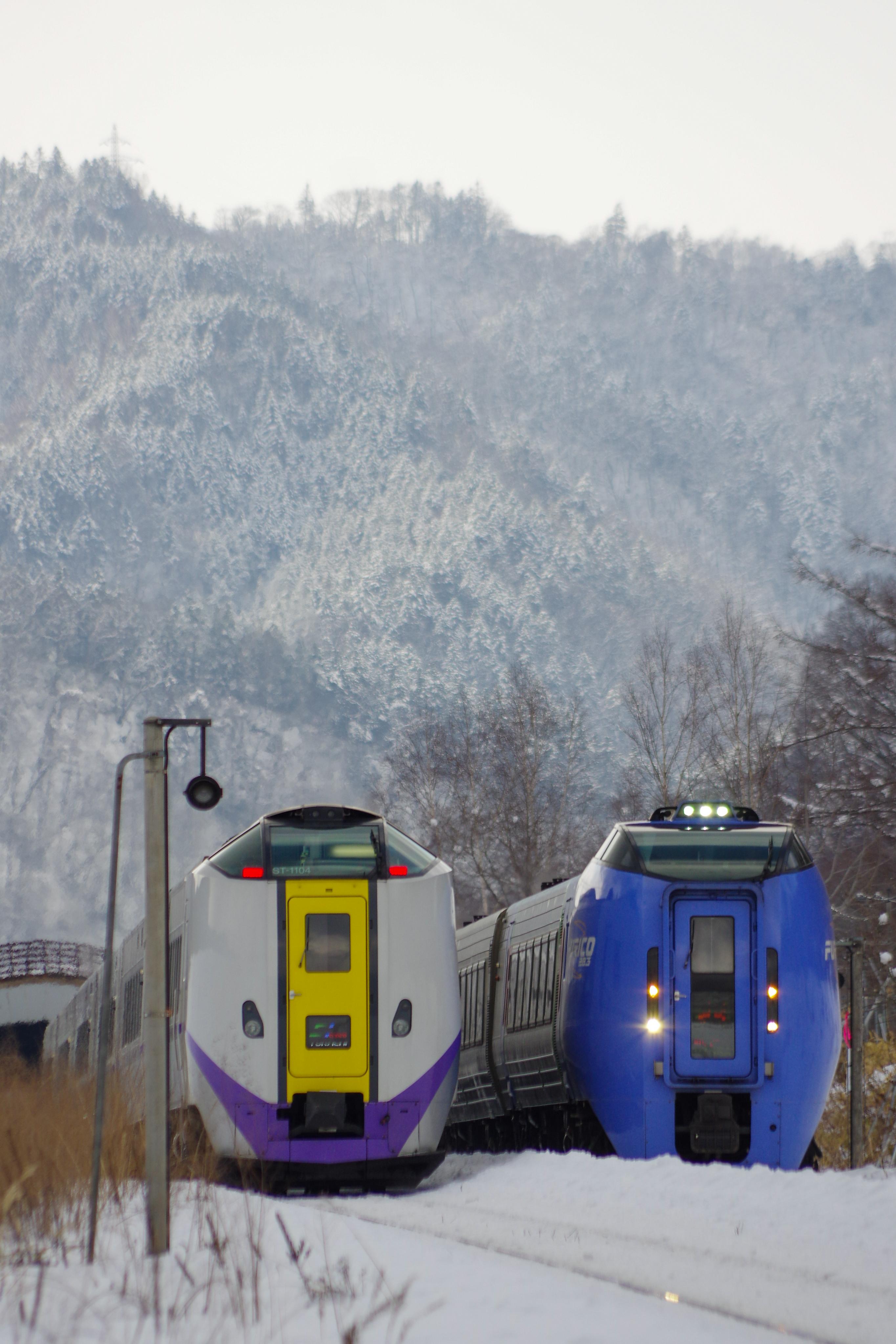 キハ261&キハ283 十三里信号場_200220.jpg