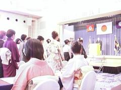 和裁さん卒業式3